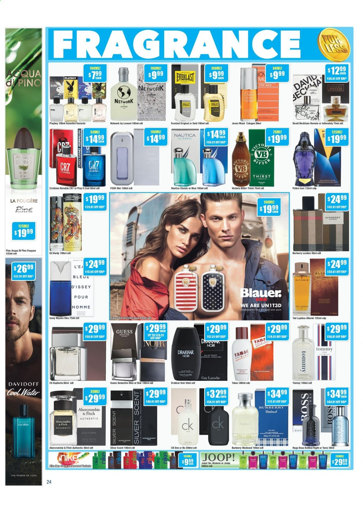 Chemist Warehouse catalogue  - 25.2.2021 - 10.3.2021. Page 24.