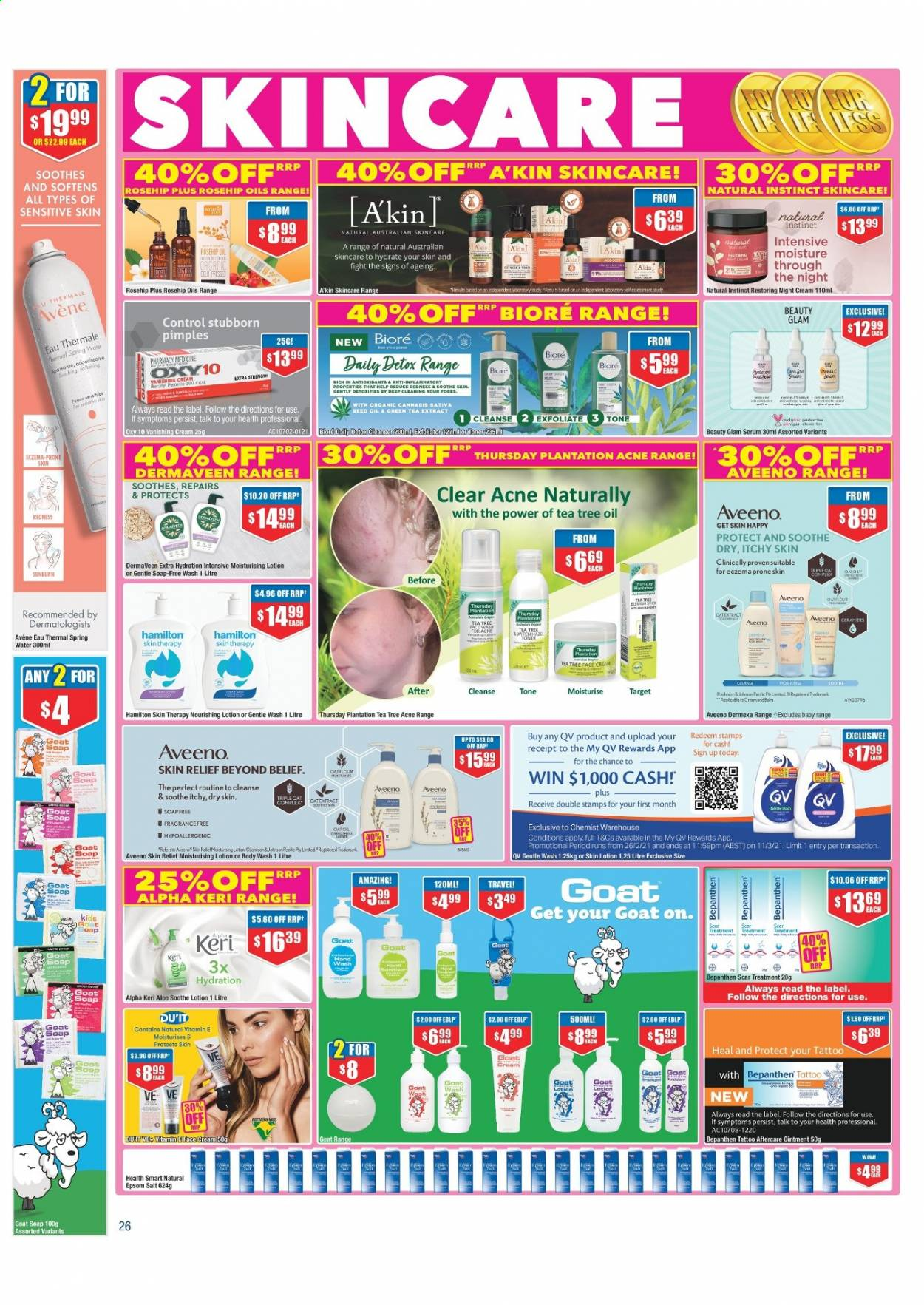 Chemist Warehouse catalogue  - 25.2.2021 - 10.3.2021. Page 26.