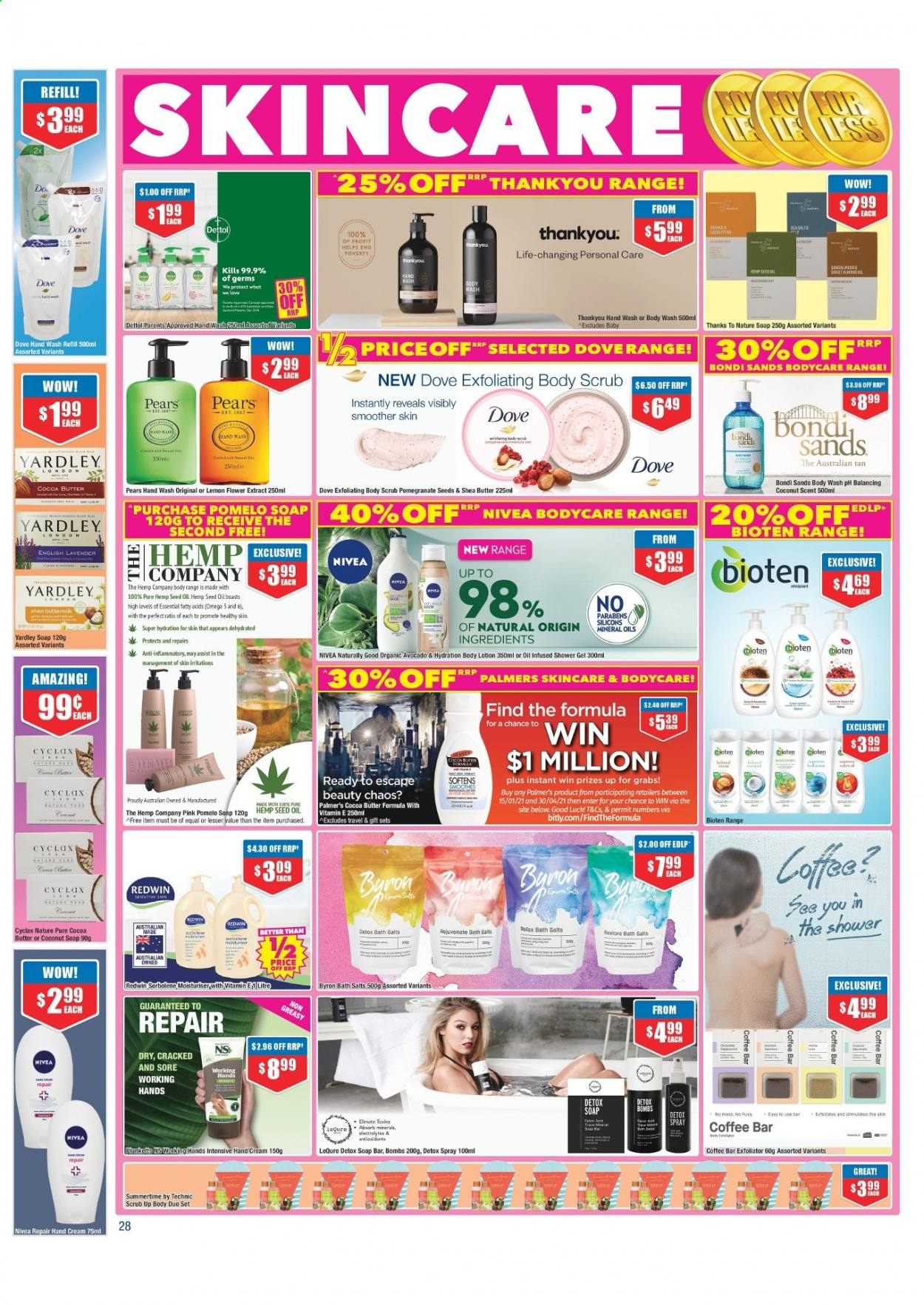 Chemist Warehouse catalogue  - 25.2.2021 - 10.3.2021. Page 28.