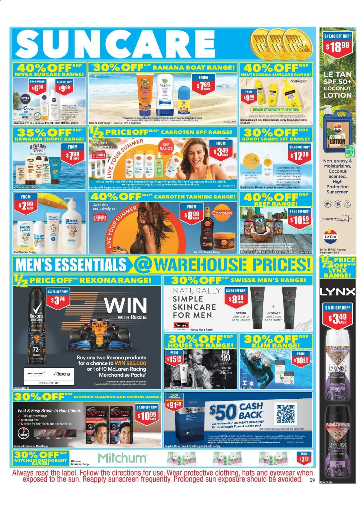 Chemist Warehouse catalogue  - 25.2.2021 - 10.3.2021. Page 29.