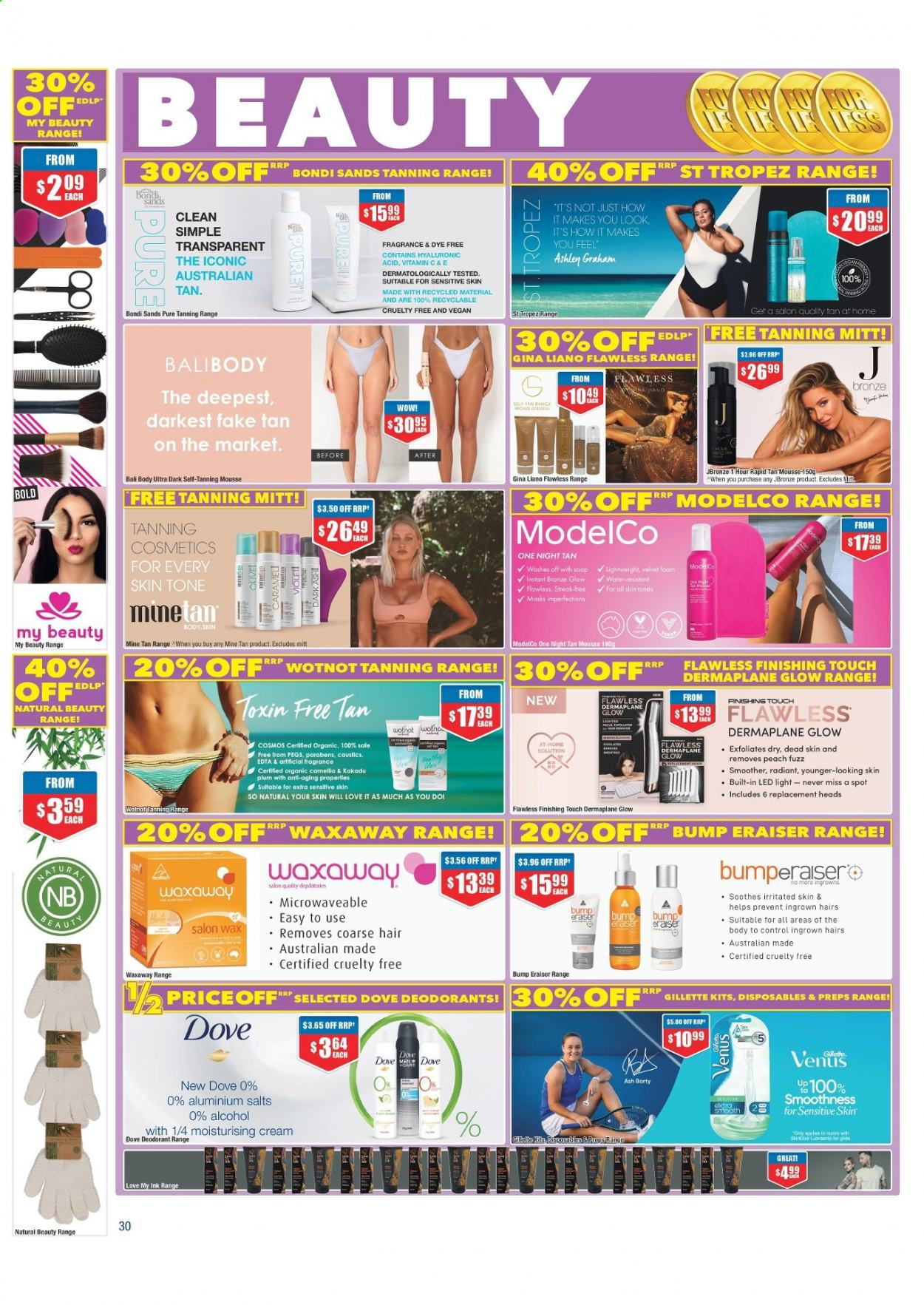 Chemist Warehouse catalogue  - 25.2.2021 - 10.3.2021. Page 30.
