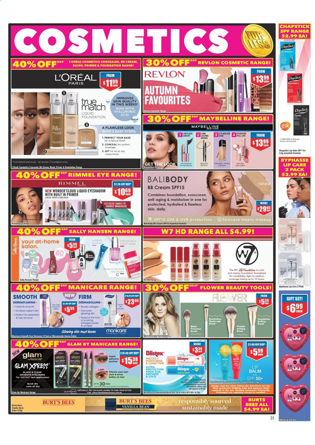 Chemist Warehouse catalogue  - 25.2.2021 - 10.3.2021. Page 31.
