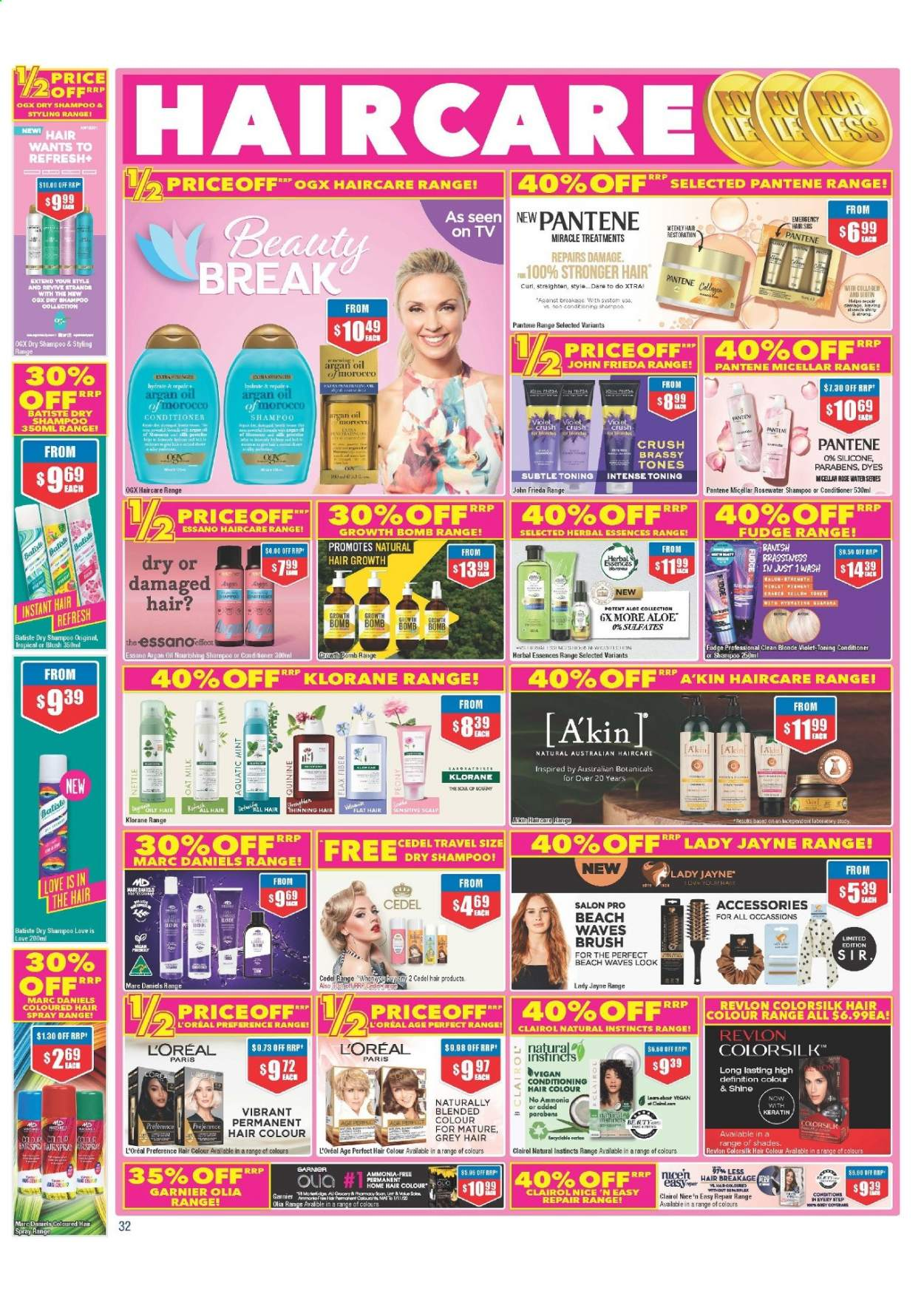 Chemist Warehouse catalogue  - 25.2.2021 - 10.3.2021. Page 32.