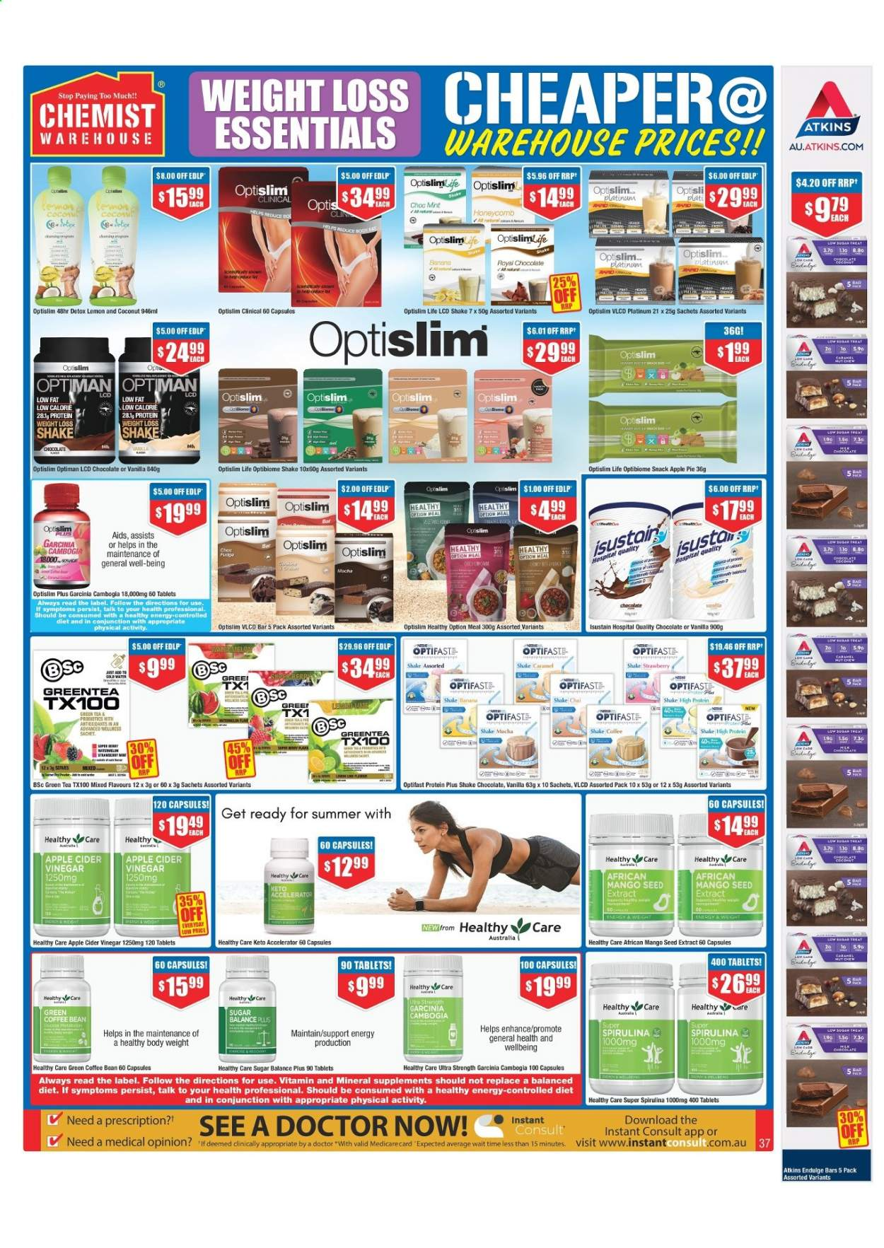 Chemist Warehouse catalogue  - 25.2.2021 - 10.3.2021. Page 37.