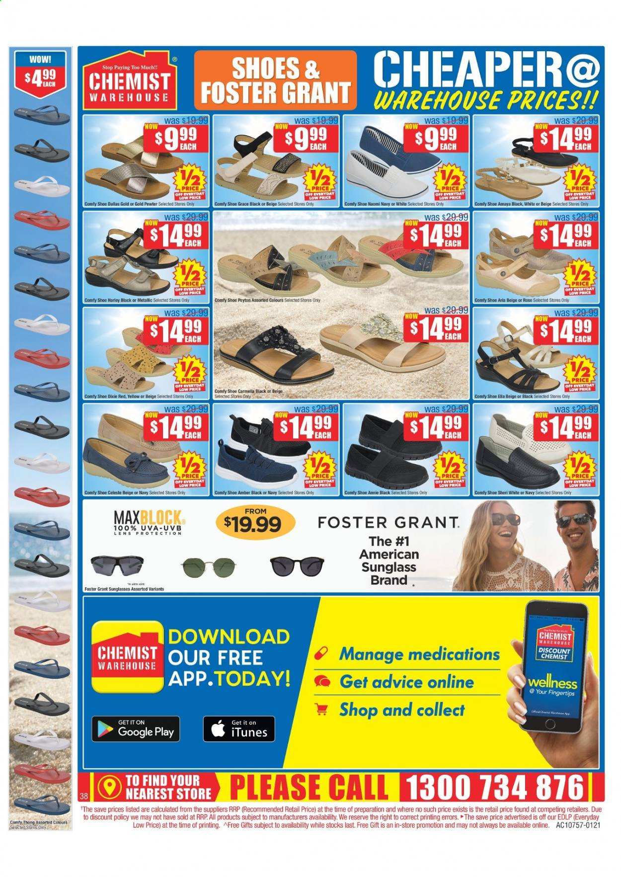 Chemist Warehouse catalogue  - 25.2.2021 - 10.3.2021. Page 38.