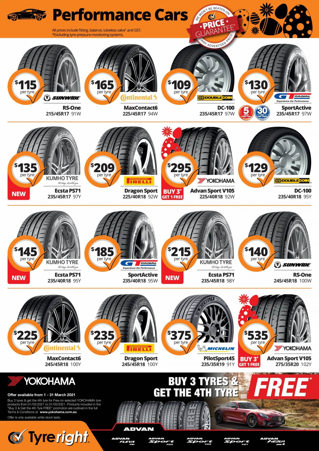 Tyreright catalogue  - 1.3.2021 - 30.4.2021. Page 4.