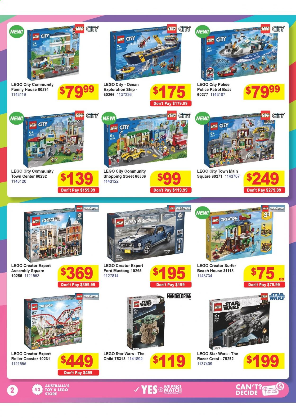 Mr Toys catalogue  - 16.3.2021 - 12.4.2021. Page 2.