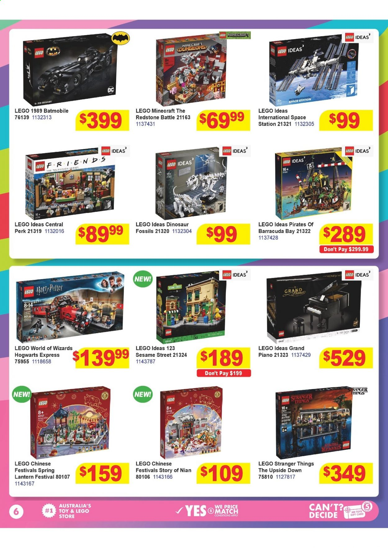 Mr Toys catalogue  - 16.3.2021 - 12.4.2021. Page 6.