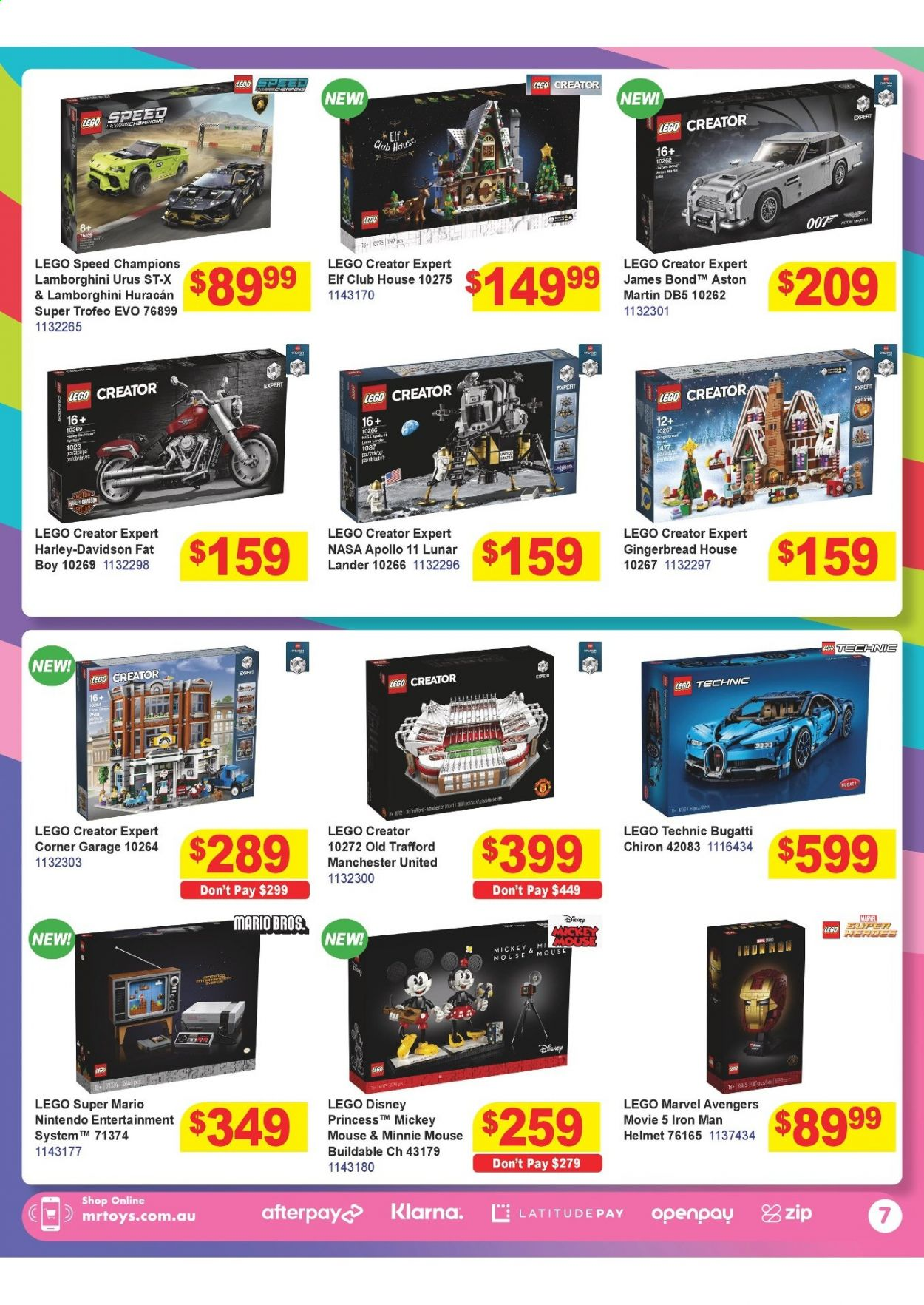 Mr Toys catalogue  - 16.3.2021 - 12.4.2021. Page 7.