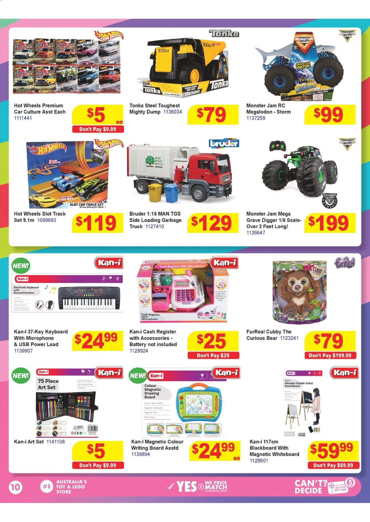 Mr Toys catalogue  - 16.3.2021 - 12.4.2021. Page 10.
