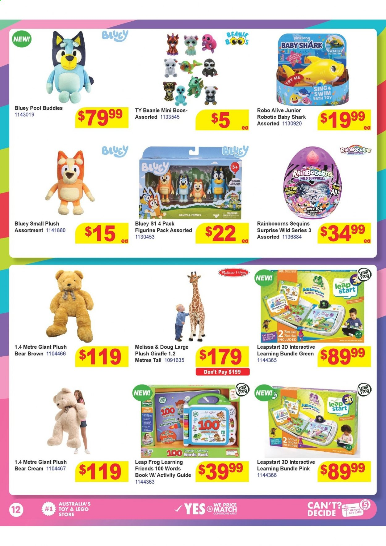 Mr Toys catalogue  - 16.3.2021 - 12.4.2021. Page 12.