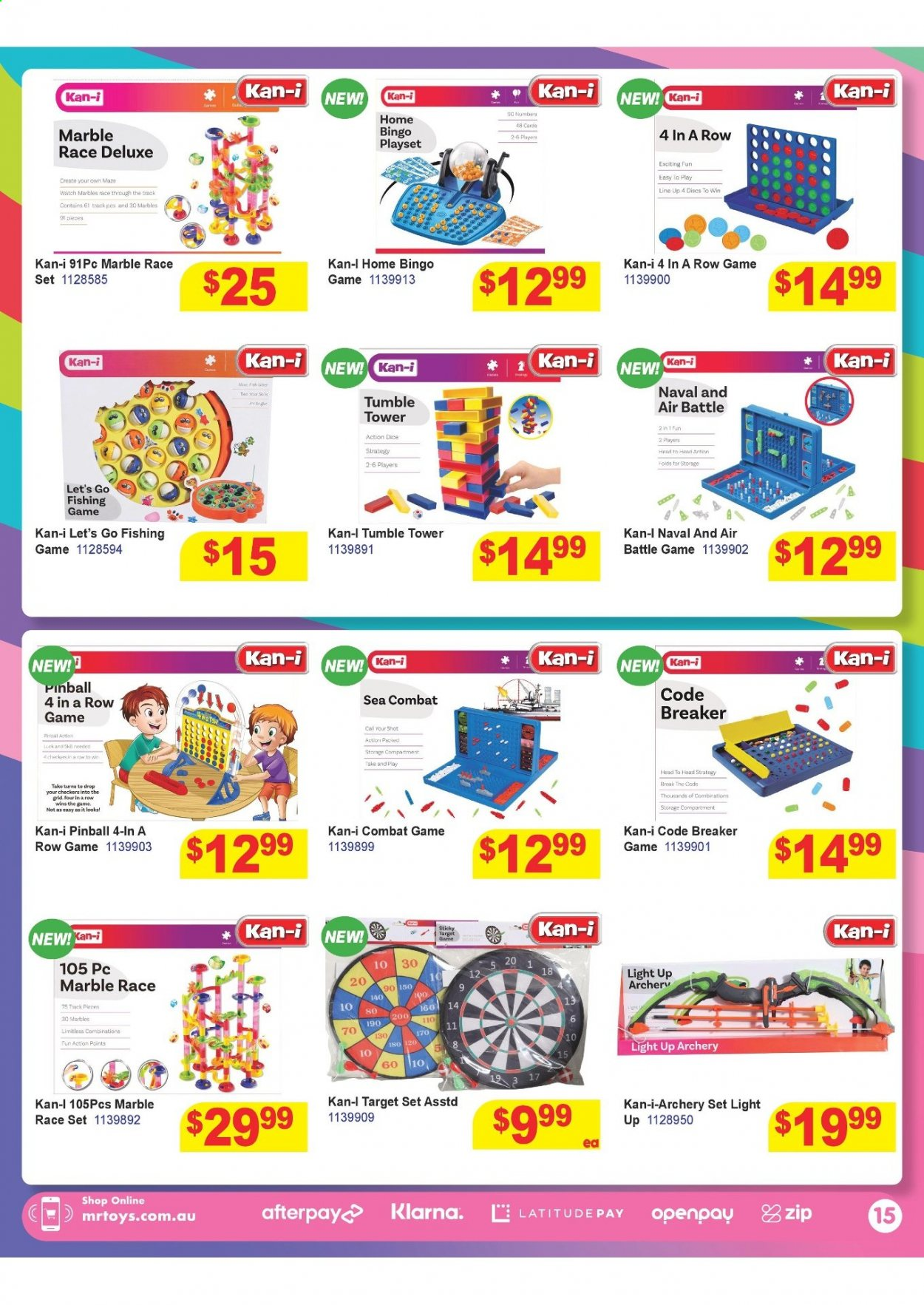 Mr Toys catalogue  - 16.3.2021 - 12.4.2021. Page 15.