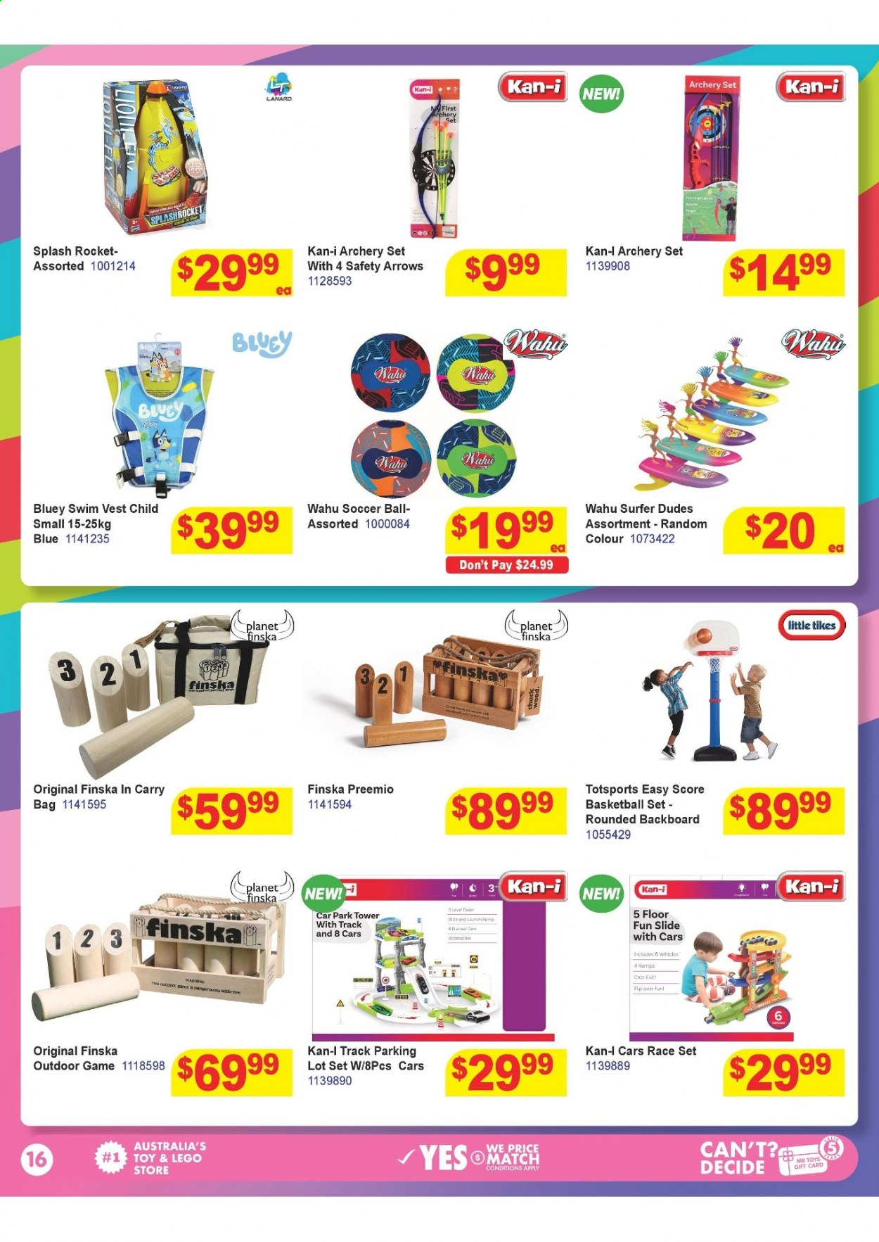 Mr Toys catalogue  - 16.3.2021 - 12.4.2021. Page 16.
