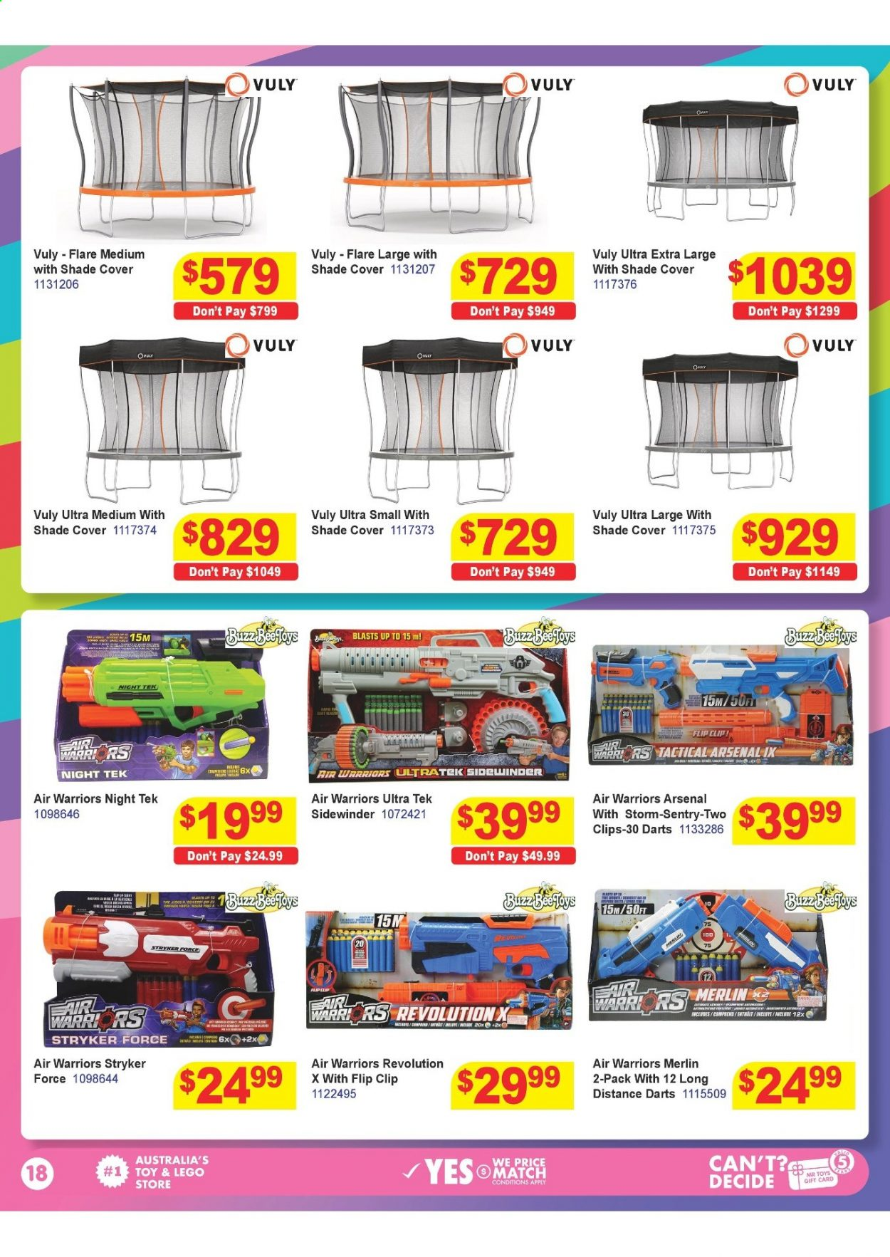 Mr Toys catalogue  - 16.3.2021 - 12.4.2021. Page 18.