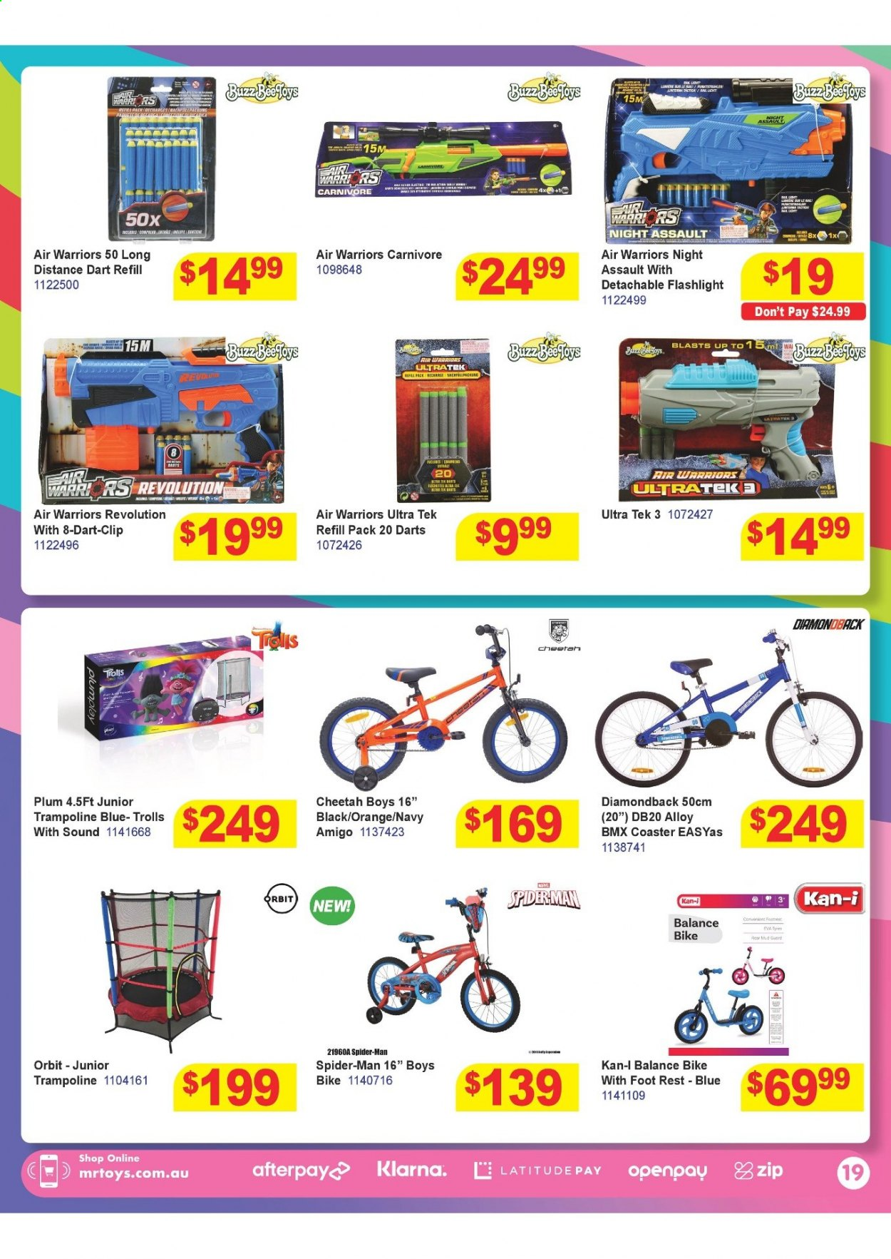 Mr Toys catalogue  - 16.3.2021 - 12.4.2021. Page 19.