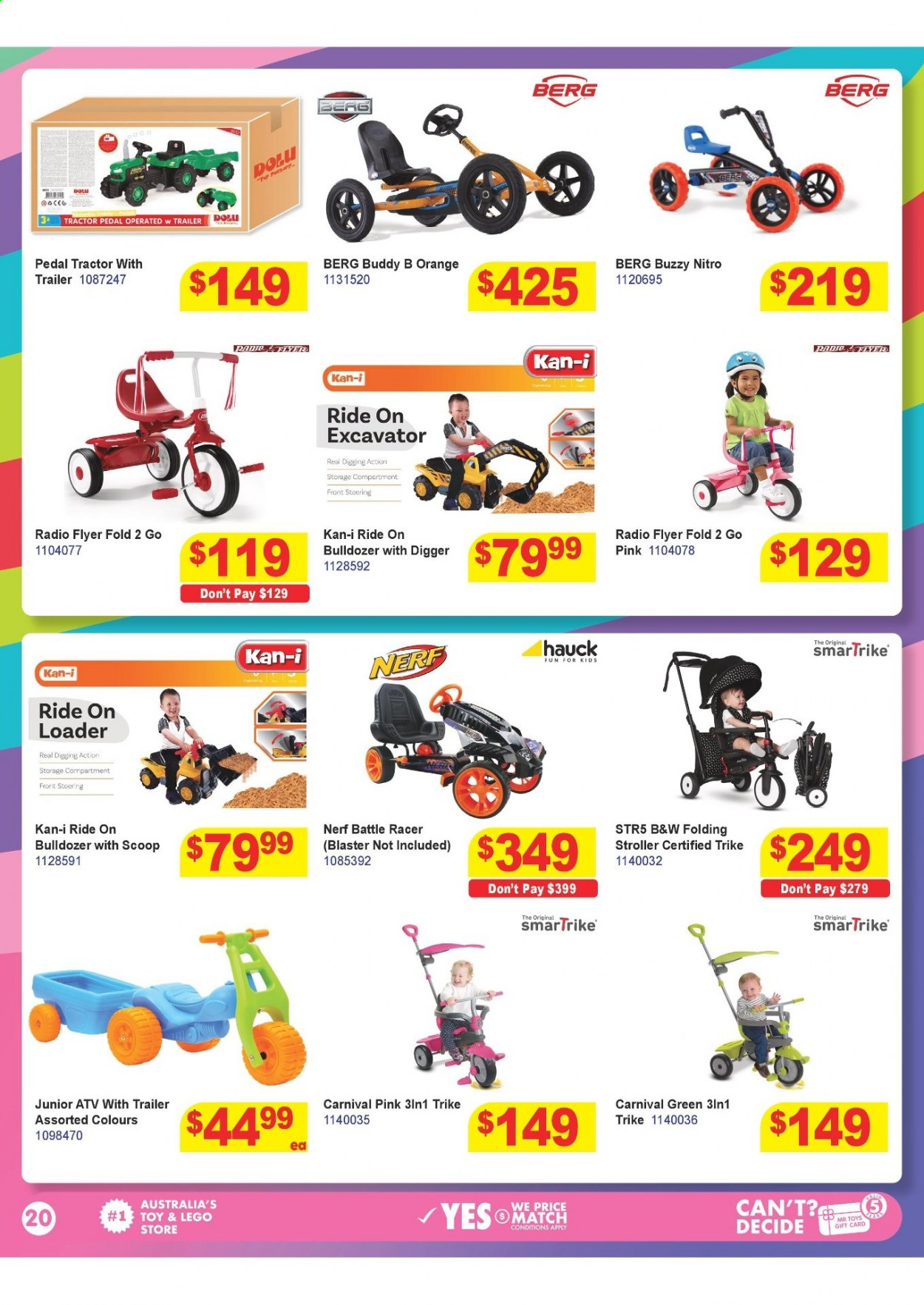 Mr Toys catalogue  - 16.3.2021 - 12.4.2021. Page 20.