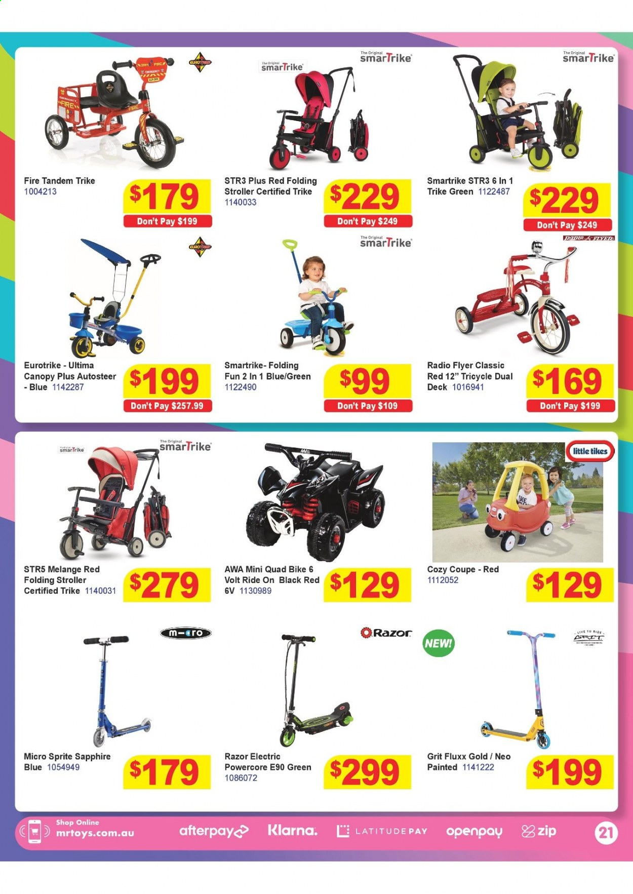 Mr Toys catalogue  - 16.3.2021 - 12.4.2021. Page 21.