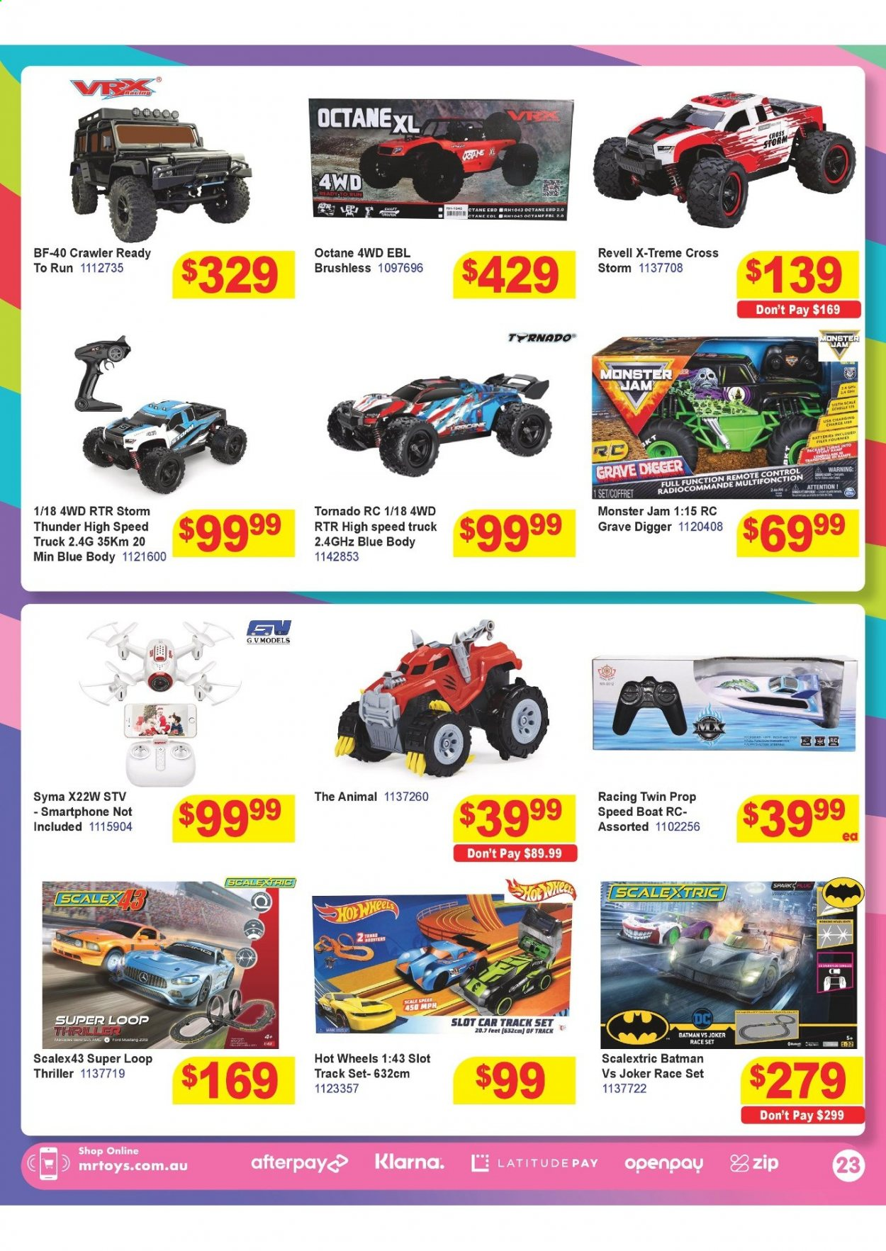Mr Toys catalogue  - 16.3.2021 - 12.4.2021. Page 23.