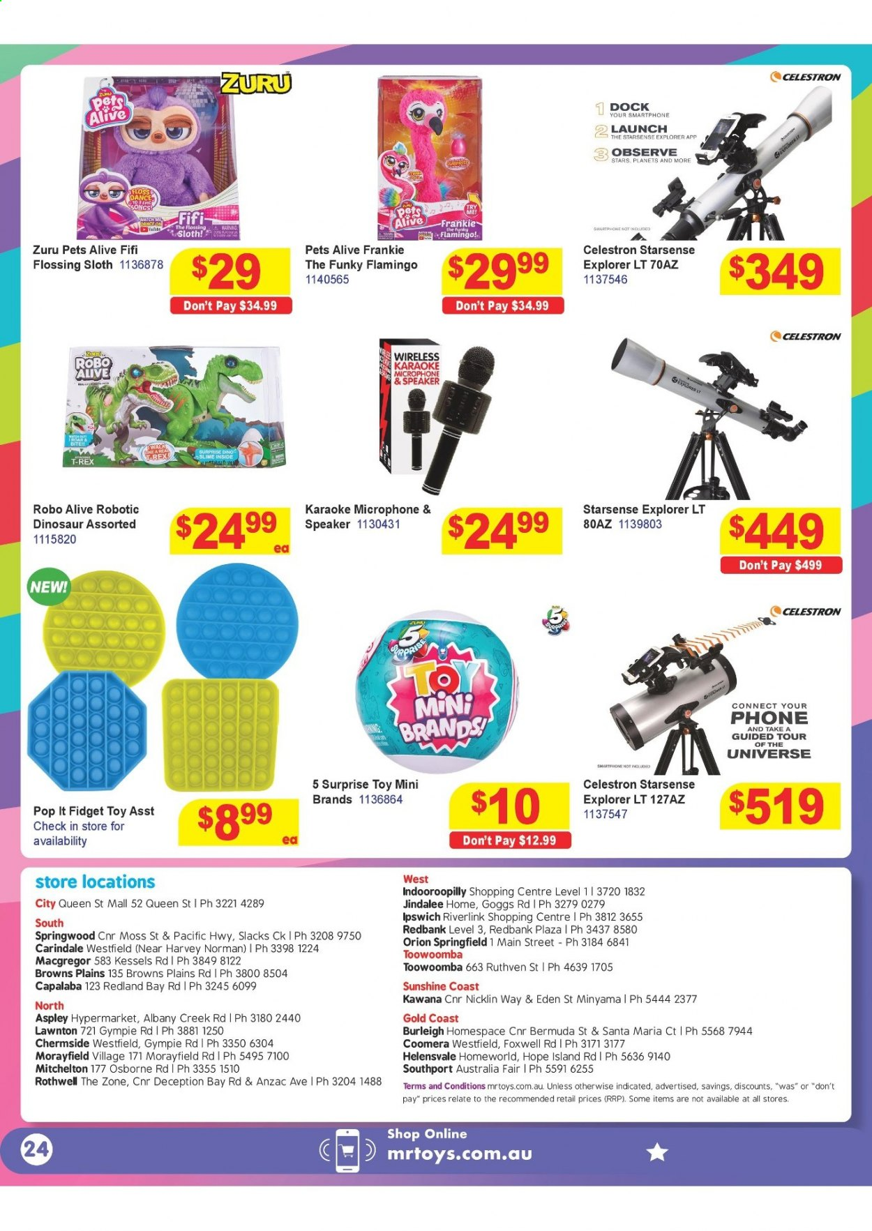 Mr Toys catalogue  - 16.3.2021 - 12.4.2021. Page 24.