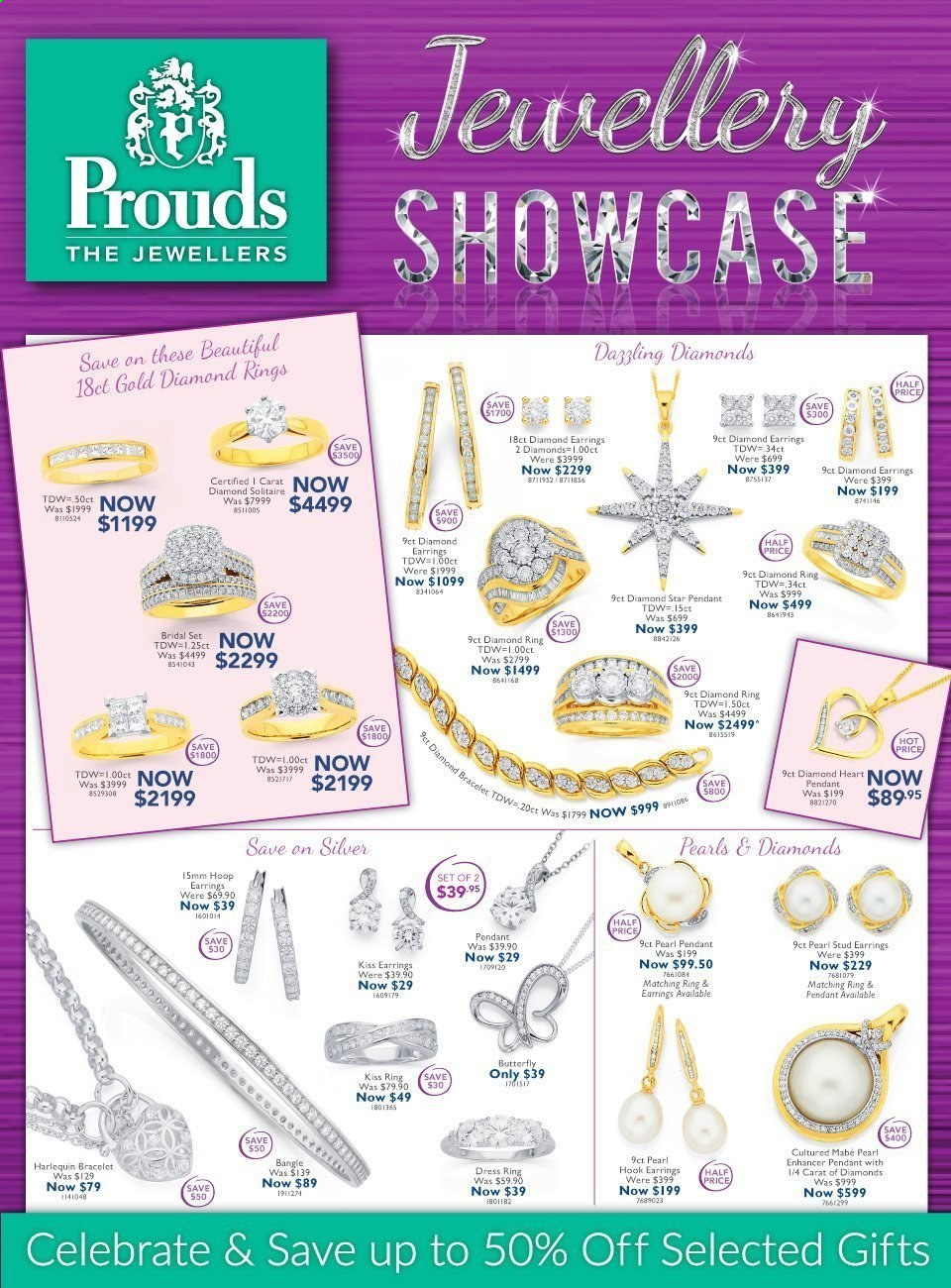 Prouds The Jewellers catalogue  - 15.3.2021 - 11.4.2021. Page 1.