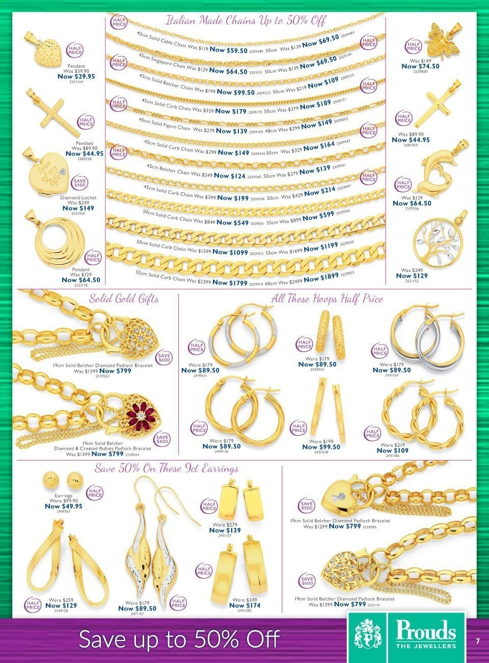 Prouds The Jewellers catalogue  - 15.3.2021 - 11.4.2021. Page 7.