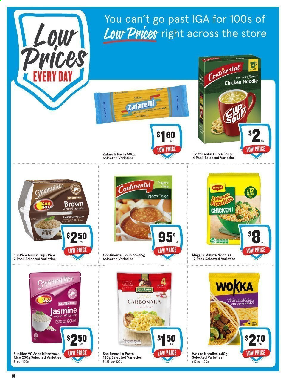 IGA catalogue  - 24.2.2021 - 31.7.2021. Page 11.