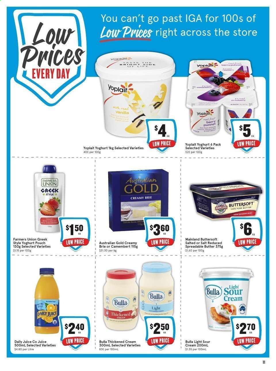 IGA catalogue  - 24.2.2021 - 31.7.2021. Page 12.