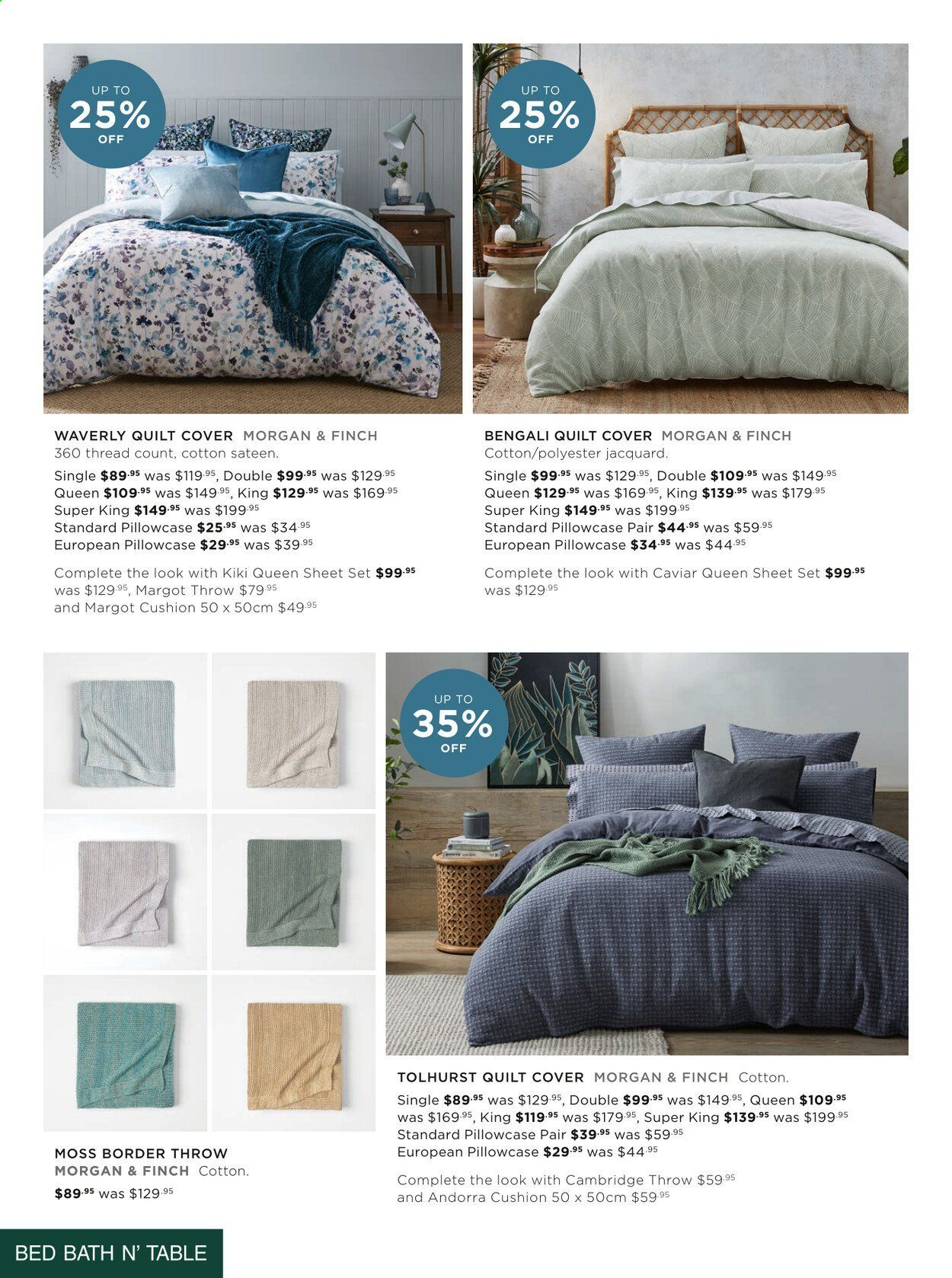 Bed Bath n Table catalogue  - 22.3.2021 - 25.4.2021. Page 2.