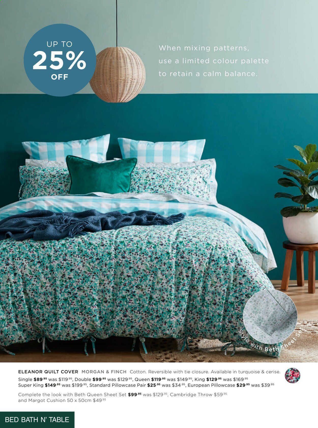 Bed Bath n Table catalogue  - 22.3.2021 - 25.4.2021. Page 4.