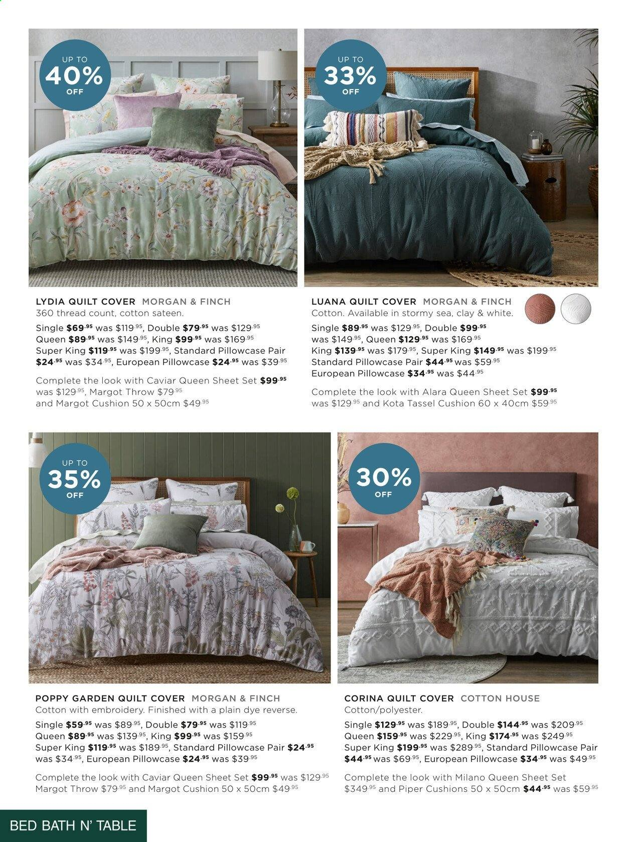Bed Bath n Table catalogue  - 22.3.2021 - 25.4.2021. Page 6.