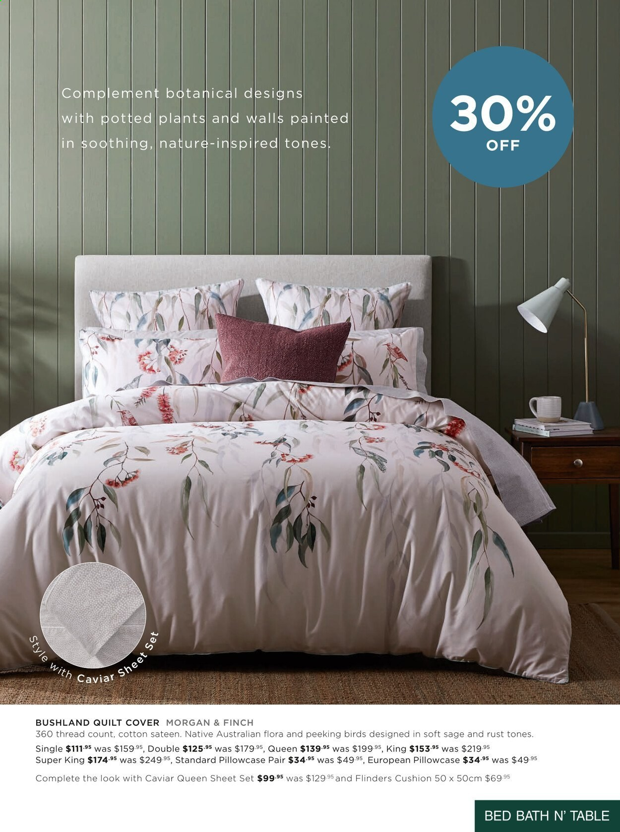 Bed Bath n Table catalogue  - 22.3.2021 - 25.4.2021. Page 7.