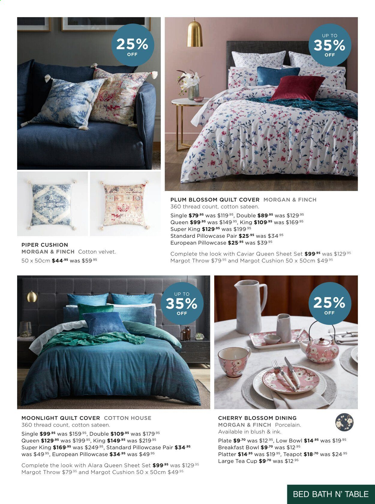 Bed Bath n Table catalogue  - 22.3.2021 - 25.4.2021. Page 9.