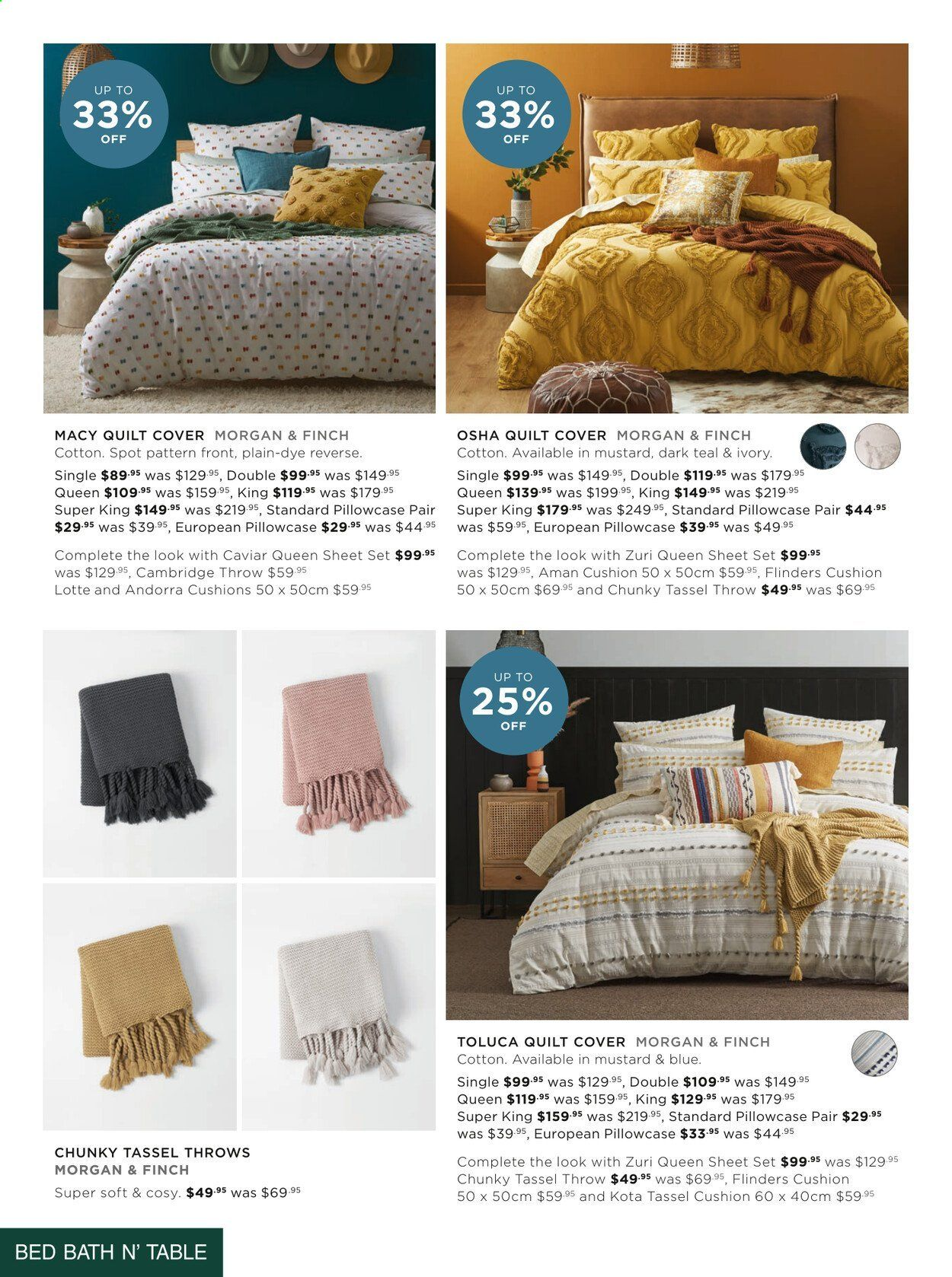 Bed Bath n Table catalogue  - 22.3.2021 - 25.4.2021. Page 10.
