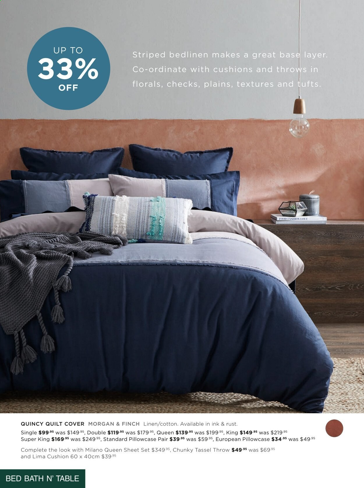 Bed Bath n Table catalogue  - 22.3.2021 - 25.4.2021. Page 12.