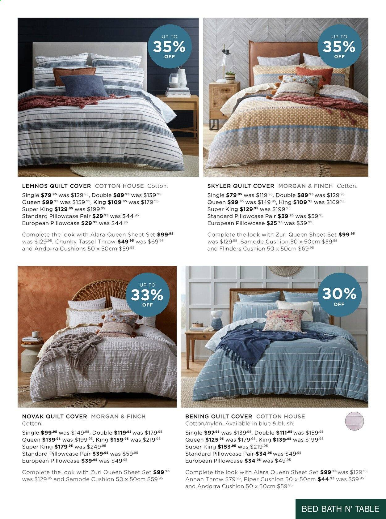 Bed Bath n Table catalogue  - 22.3.2021 - 25.4.2021. Page 13.