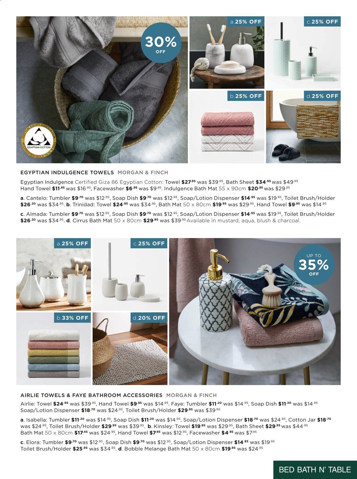 Bed Bath n Table catalogue  - 22.3.2021 - 25.4.2021. Page 15.