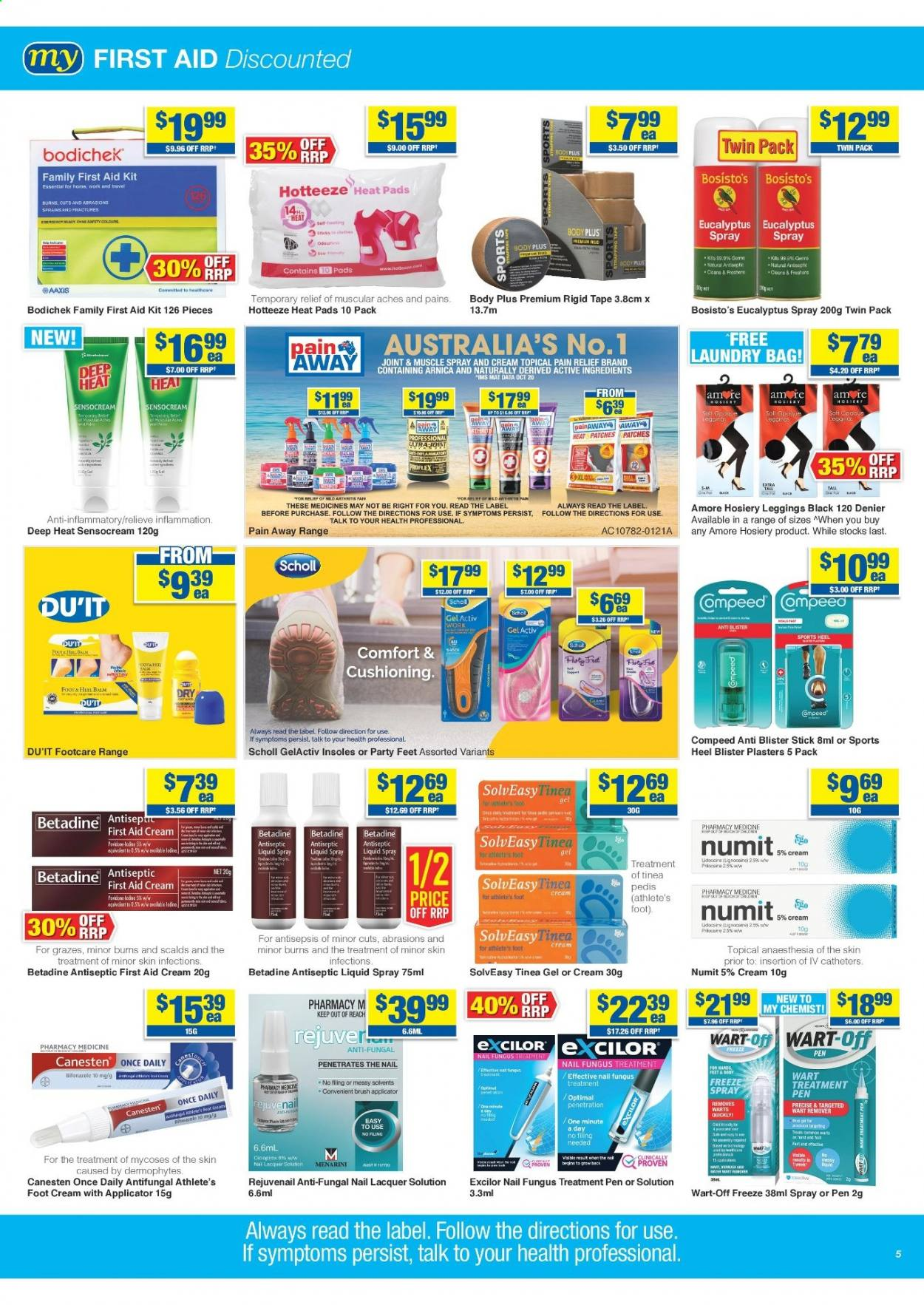 My Chemist catalogue  - 25.3.2021 - 14.4.2021. Page 5.