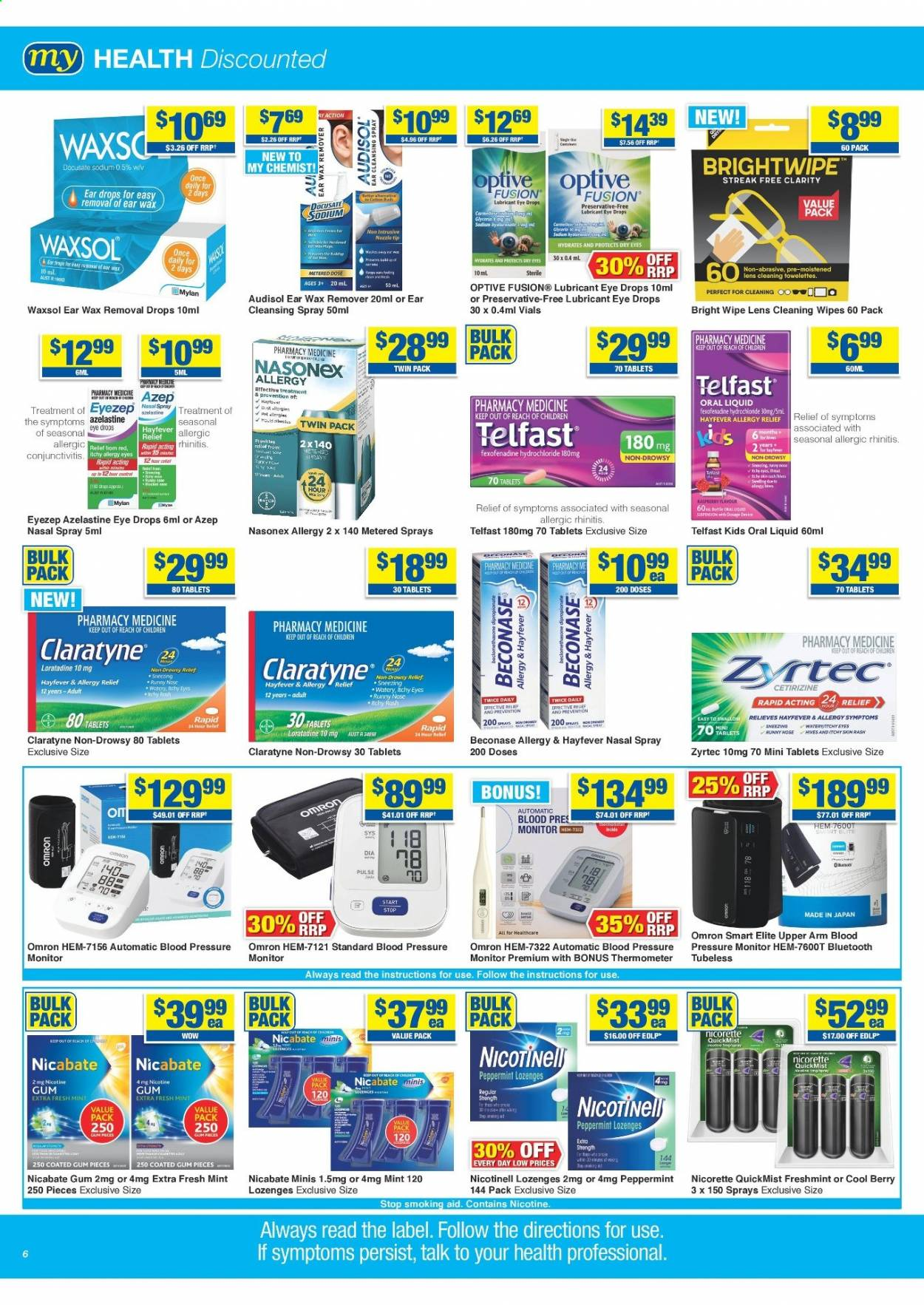 My Chemist catalogue  - 25.3.2021 - 14.4.2021. Page 6.