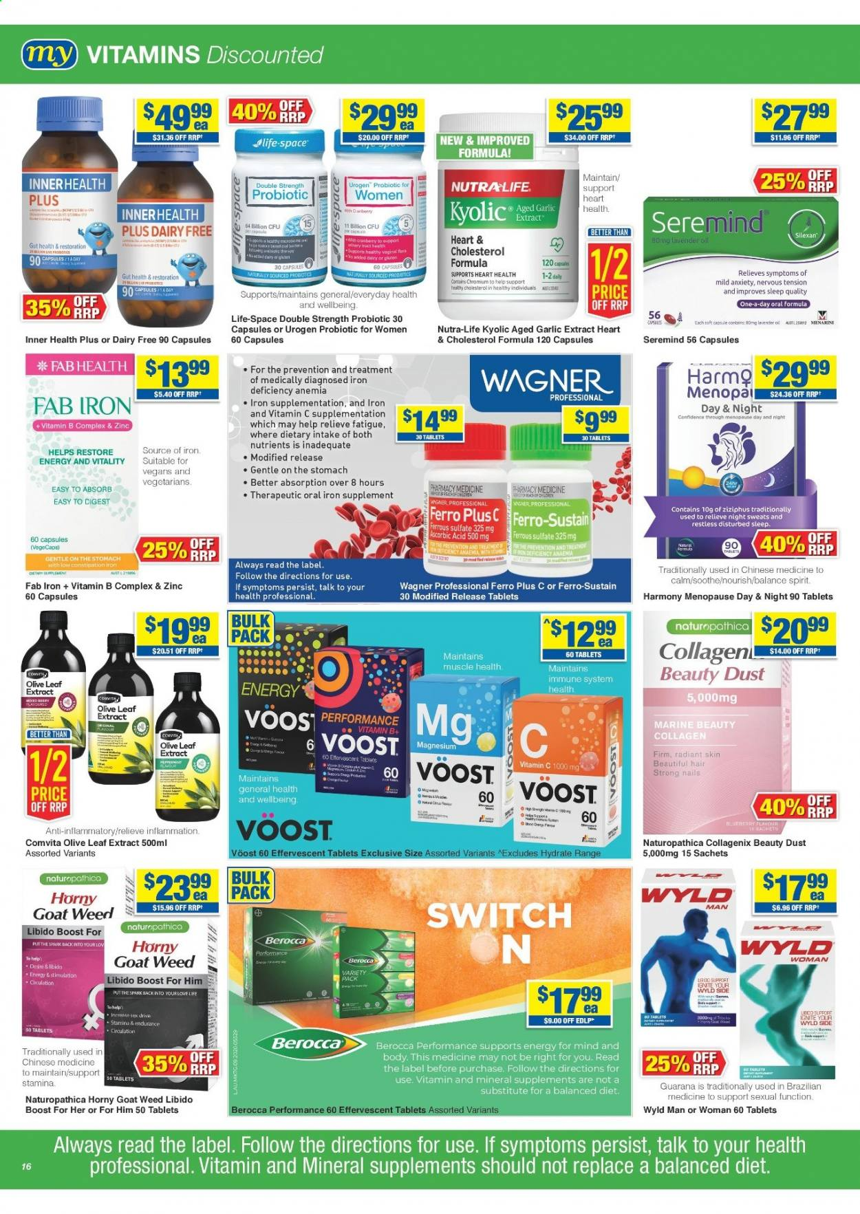 My Chemist catalogue  - 25.3.2021 - 14.4.2021. Page 16.