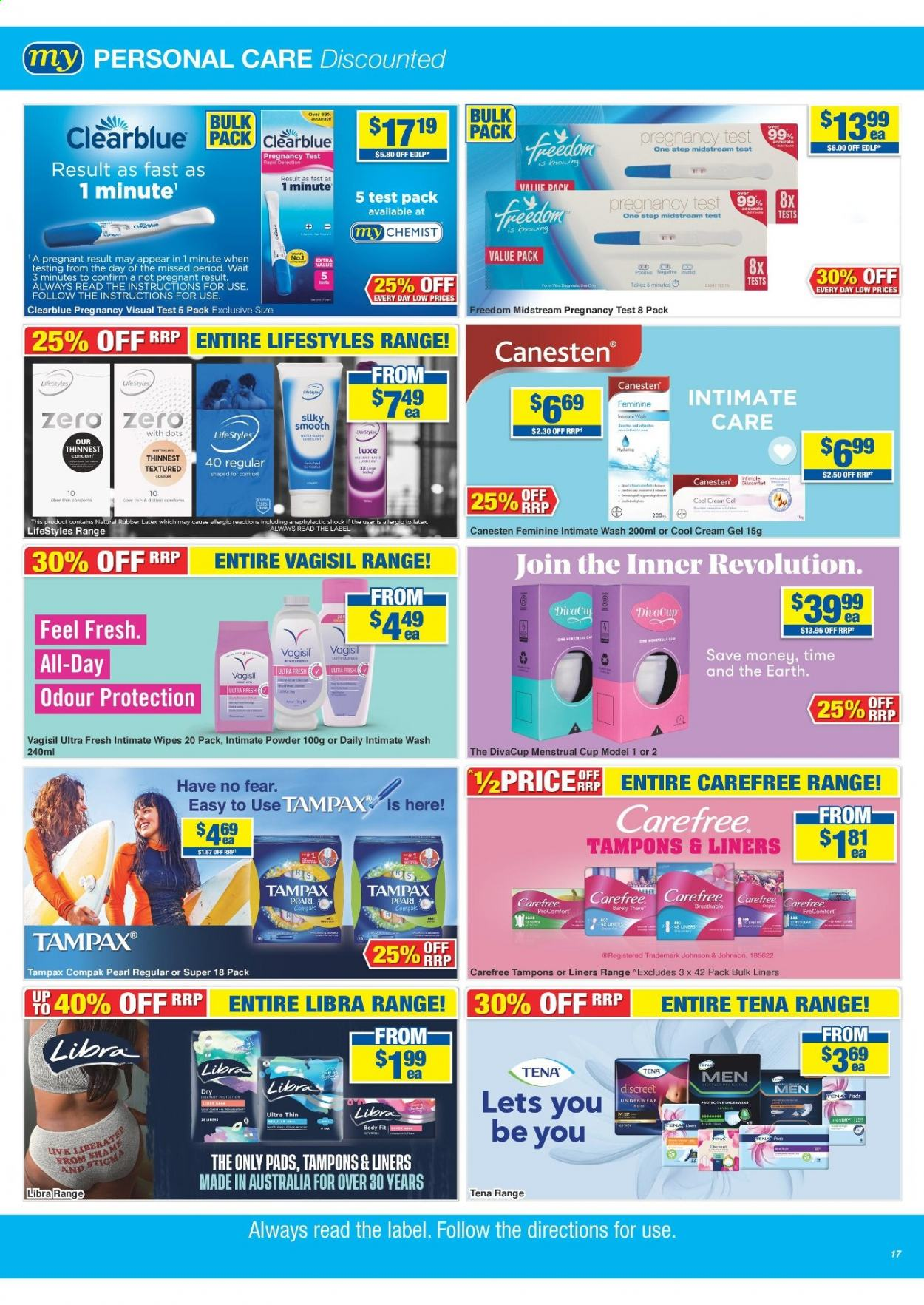 My Chemist catalogue  - 25.3.2021 - 14.4.2021. Page 17.