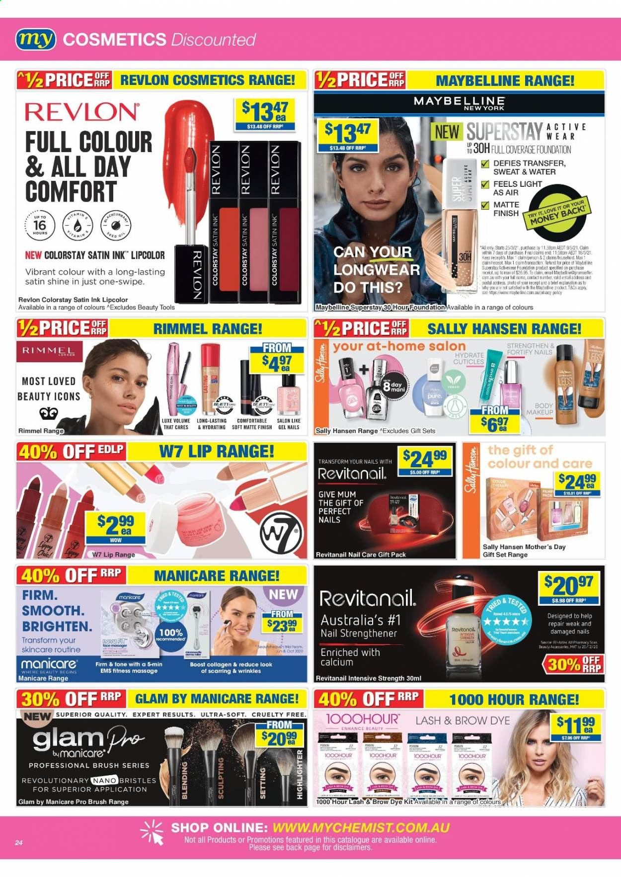My Chemist catalogue  - 25.3.2021 - 14.4.2021. Page 24.