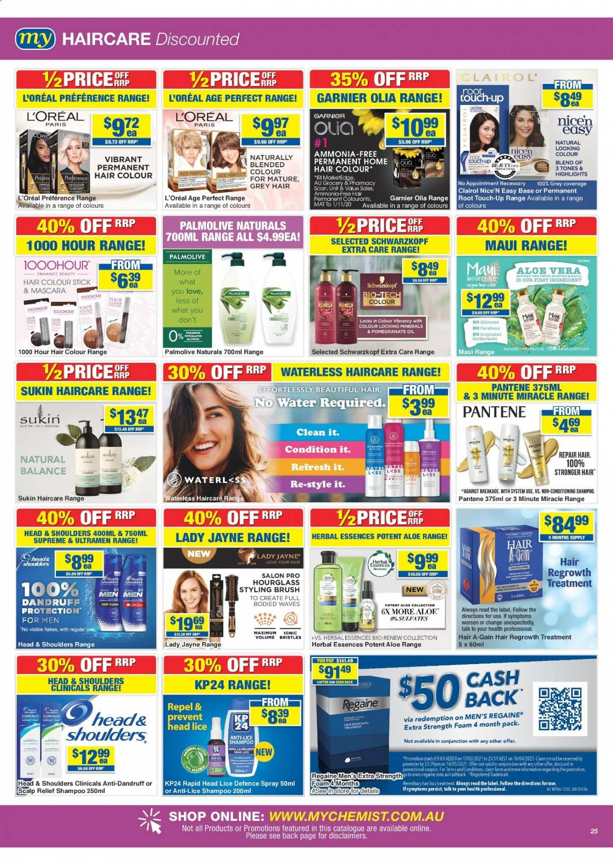 My Chemist catalogue  - 25.3.2021 - 14.4.2021. Page 25.
