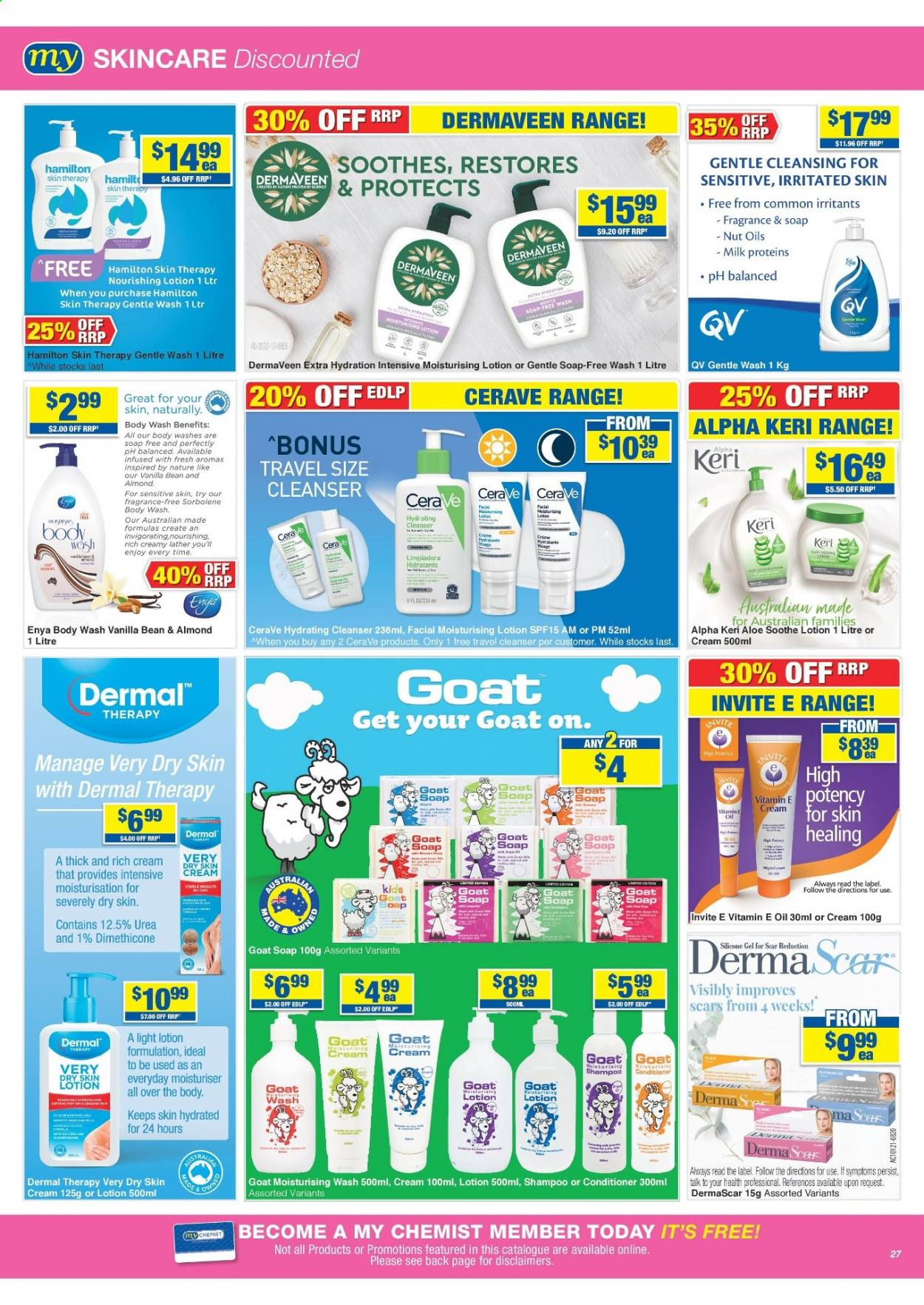 My Chemist catalogue  - 25.3.2021 - 14.4.2021. Page 27.