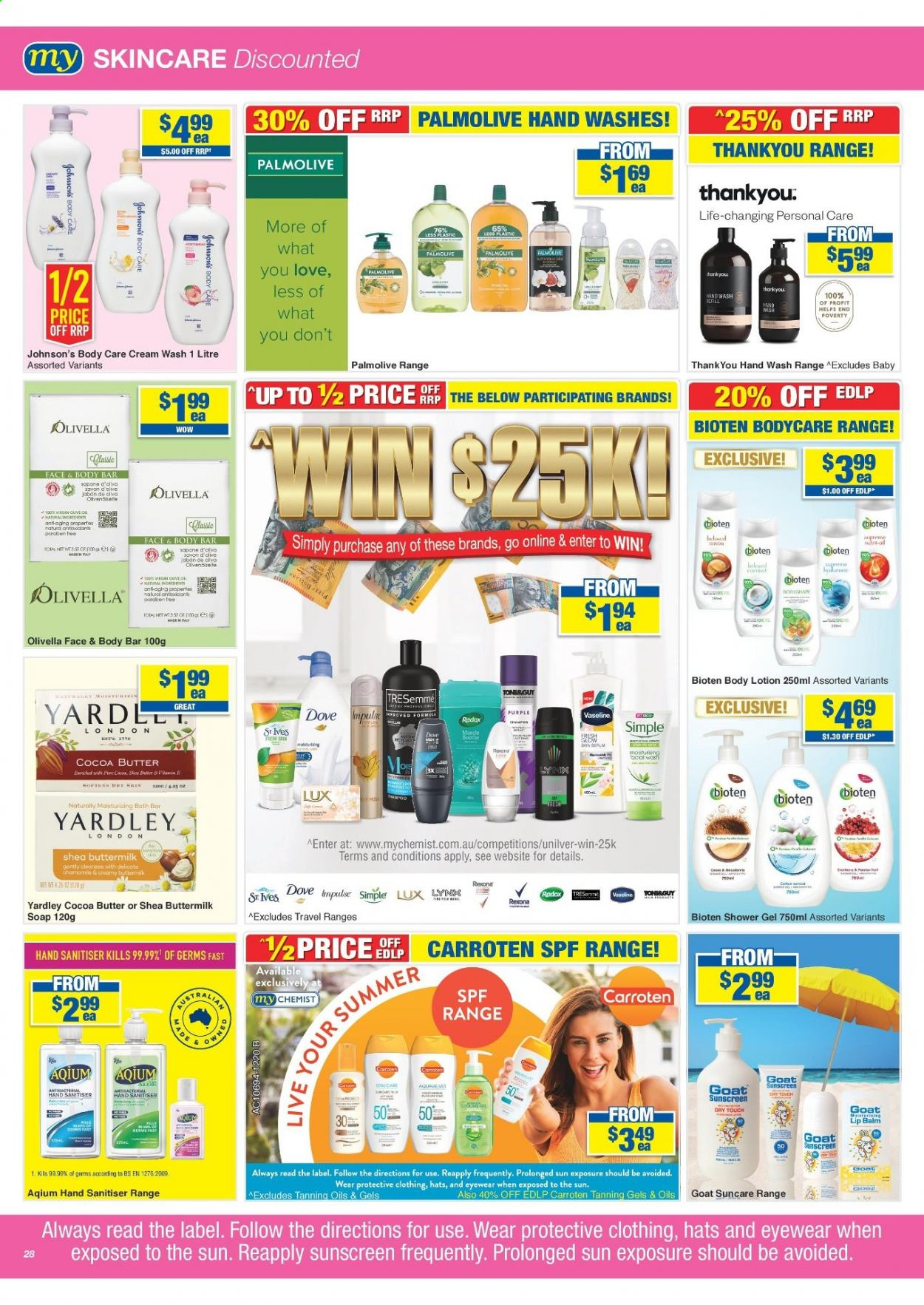 My Chemist catalogue  - 25.3.2021 - 14.4.2021. Page 28.