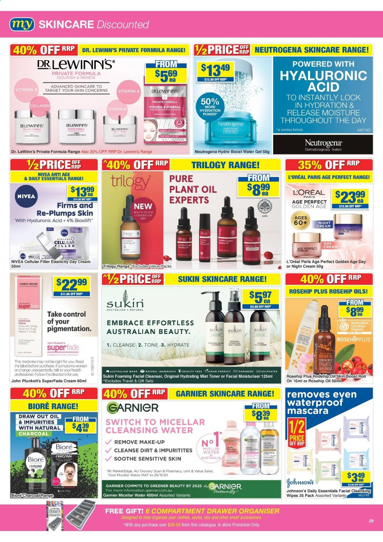 My Chemist catalogue  - 25.3.2021 - 14.4.2021. Page 29.