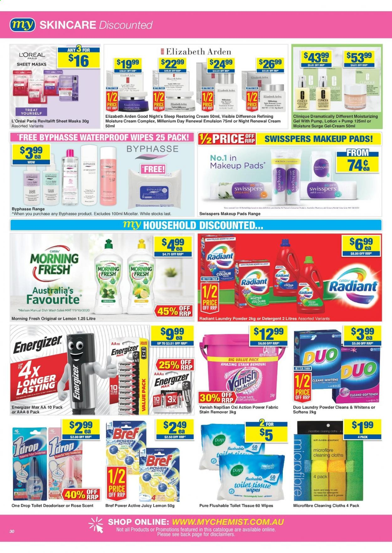 My Chemist catalogue  - 25.3.2021 - 14.4.2021. Page 30.