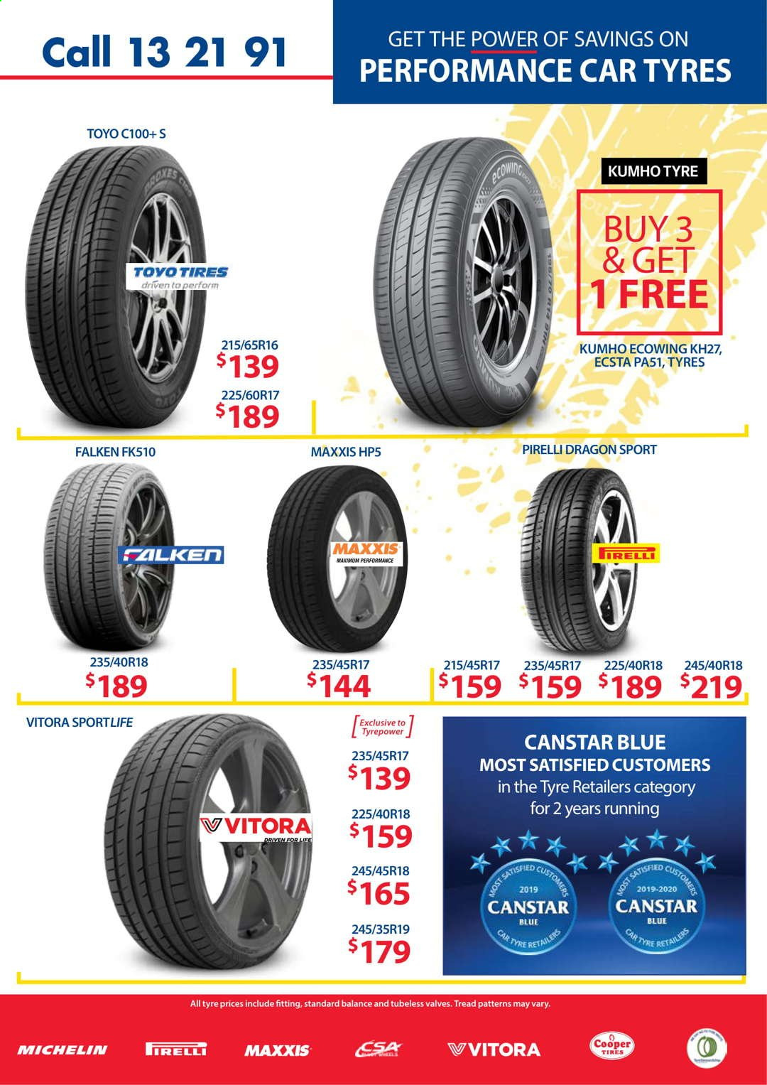 Tyrepower catalogue  - 1.4.2021 - 30.4.2021. Page 5.