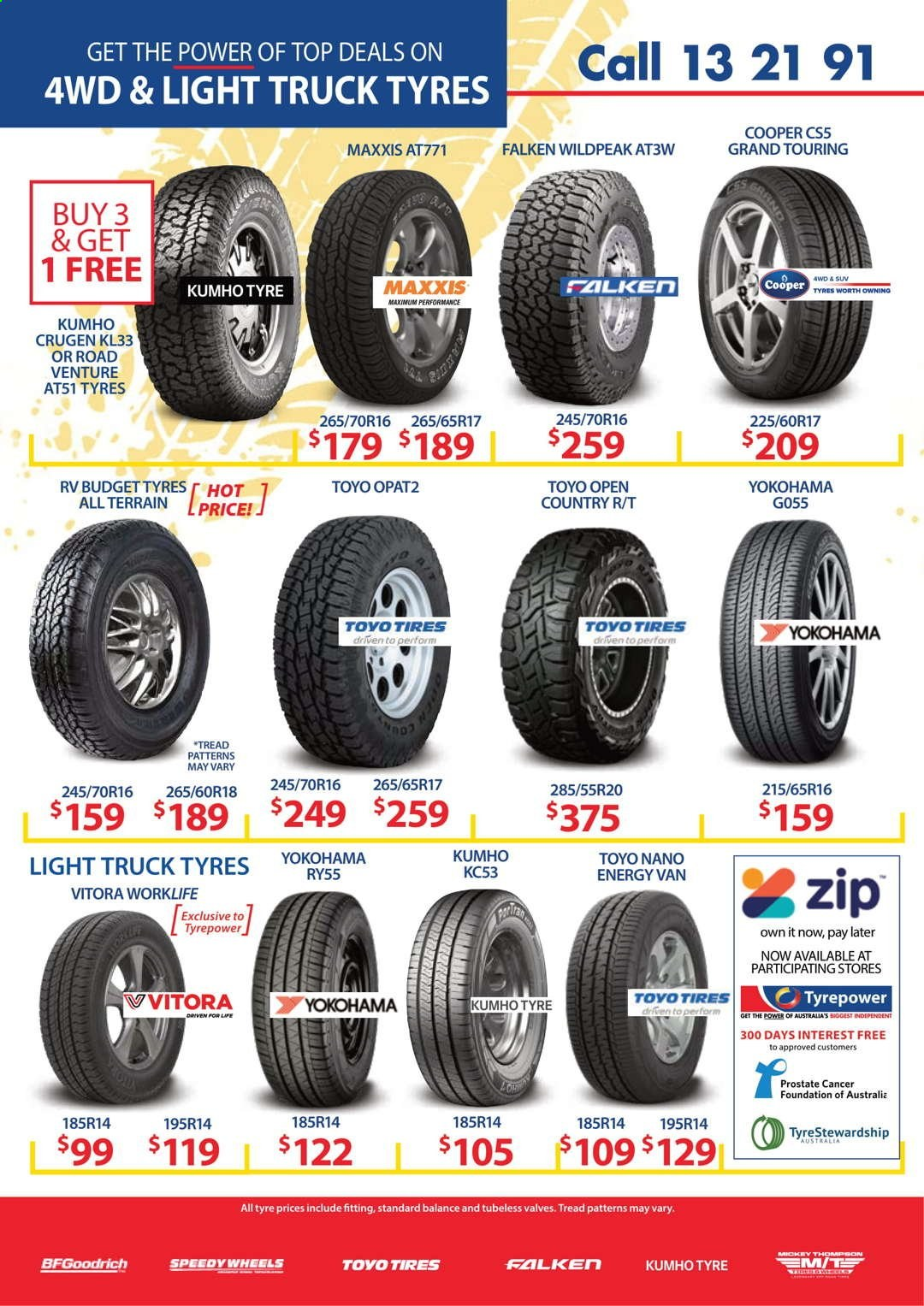 Tyrepower catalogue  - 1.4.2021 - 30.4.2021. Page 6.