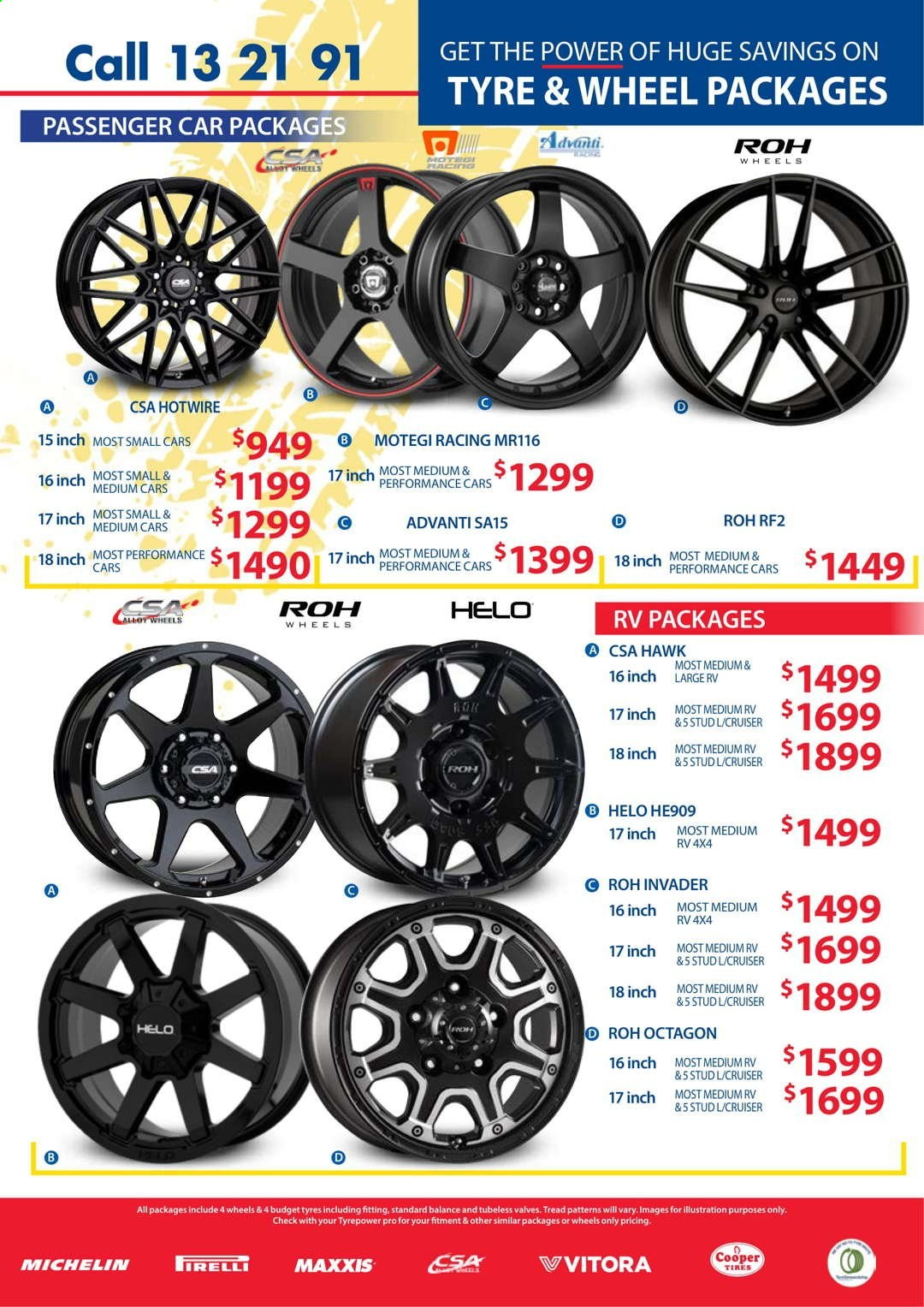 Tyrepower catalogue  - 1.4.2021 - 30.4.2021. Page 7.