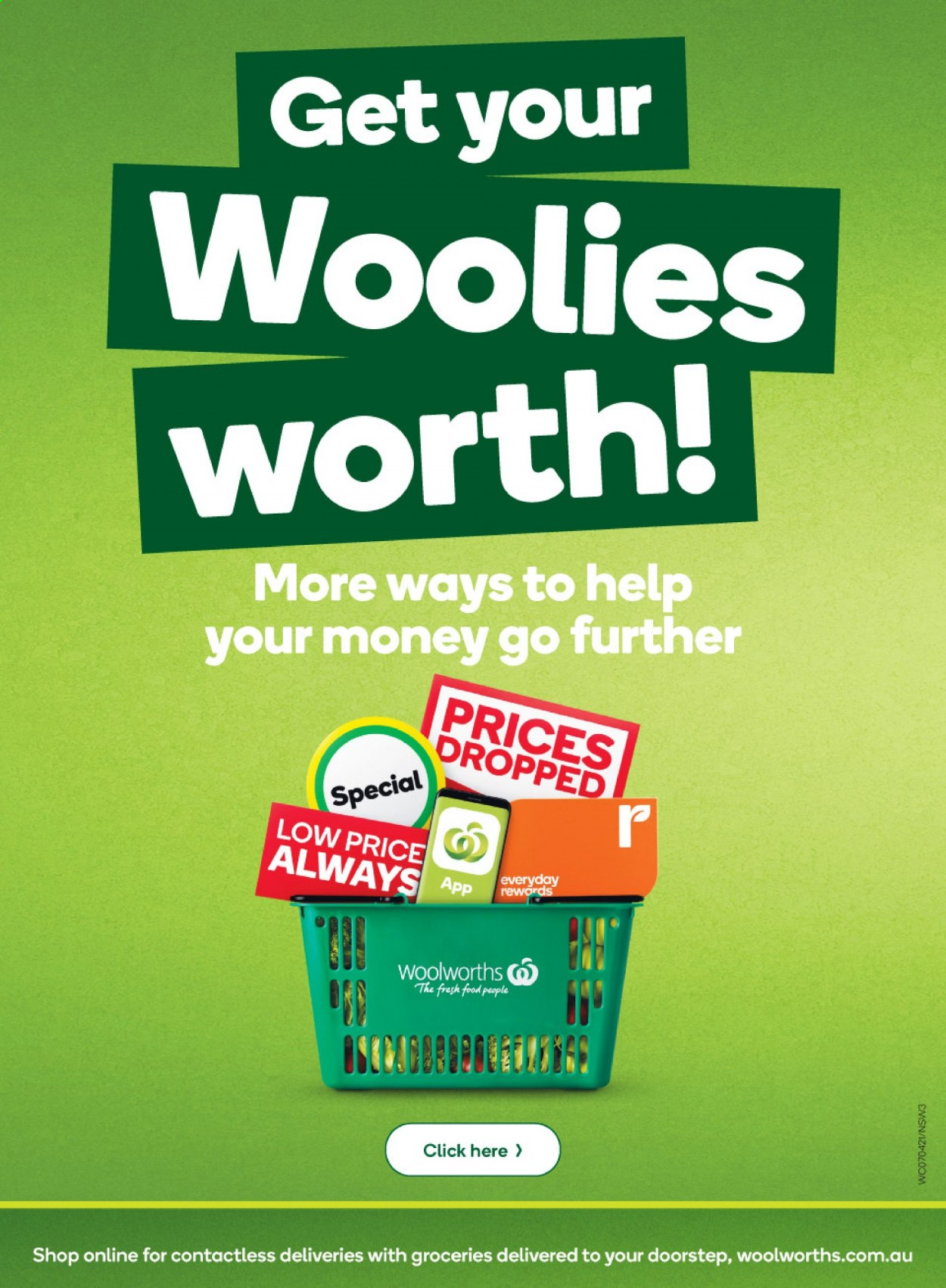 Woolworths catalogue  - 7.4.2021 - 13.4.2021. Page 3.